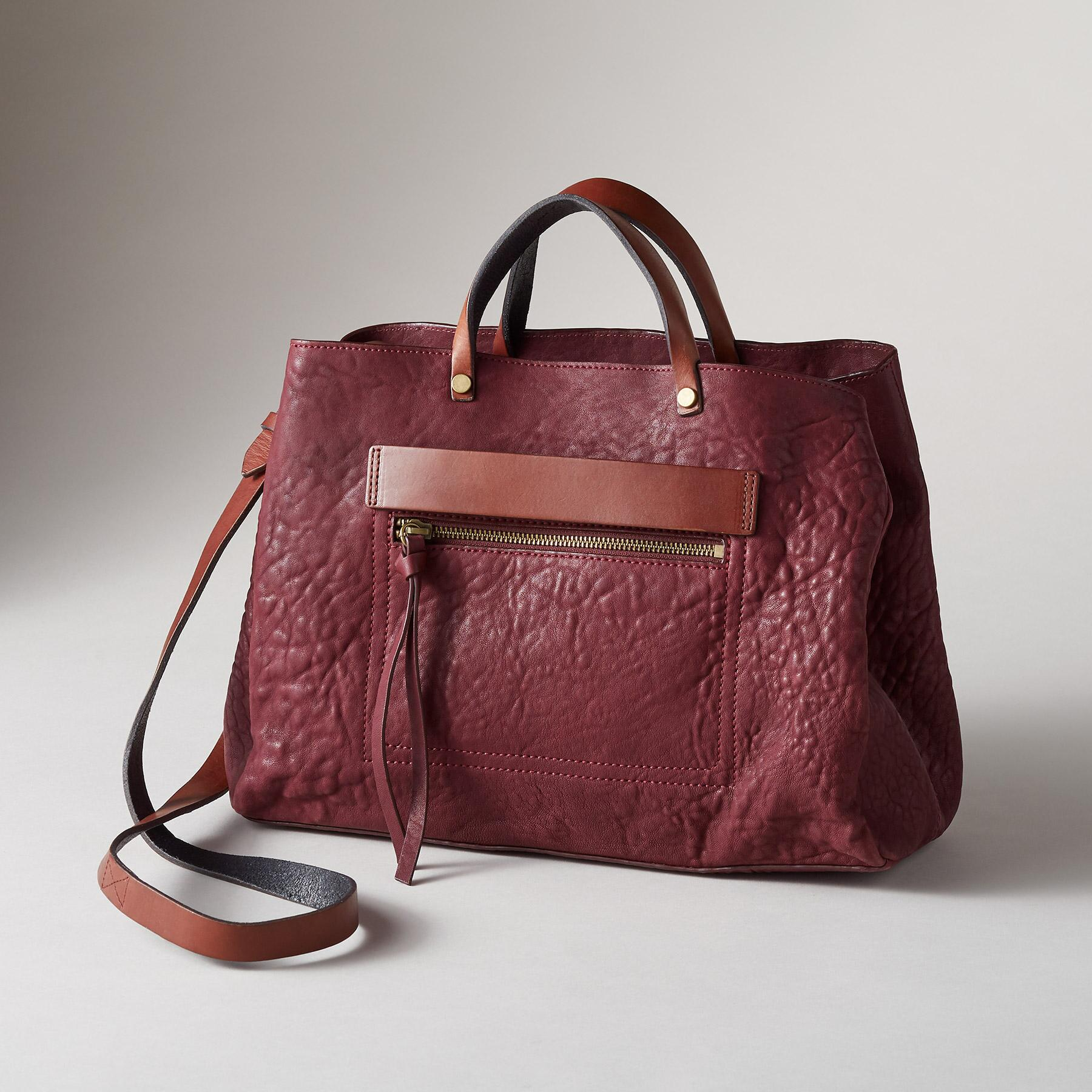 RIDGEFIELD SATCHEL: View 1