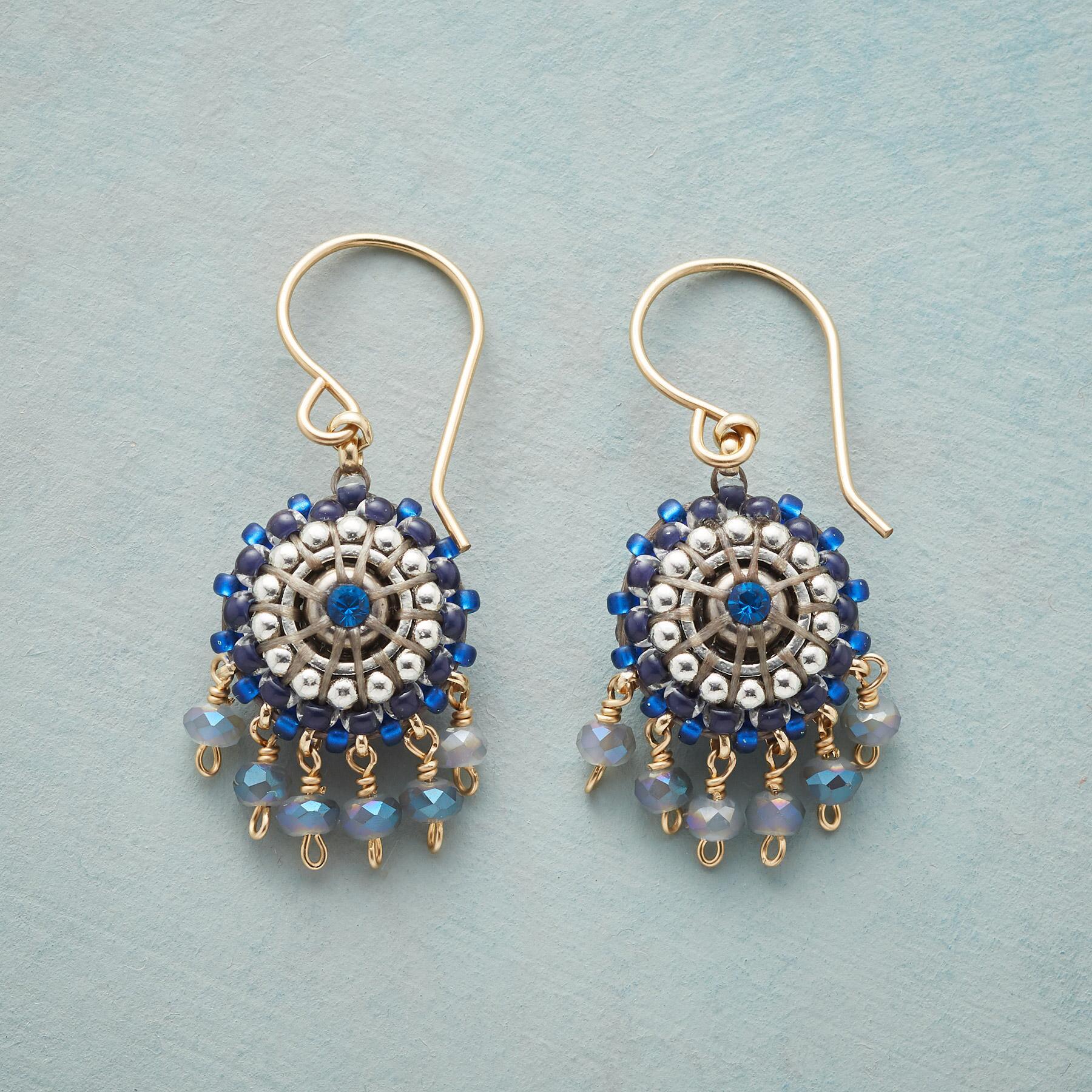 BLUE CHIME EARRINGS: View 1