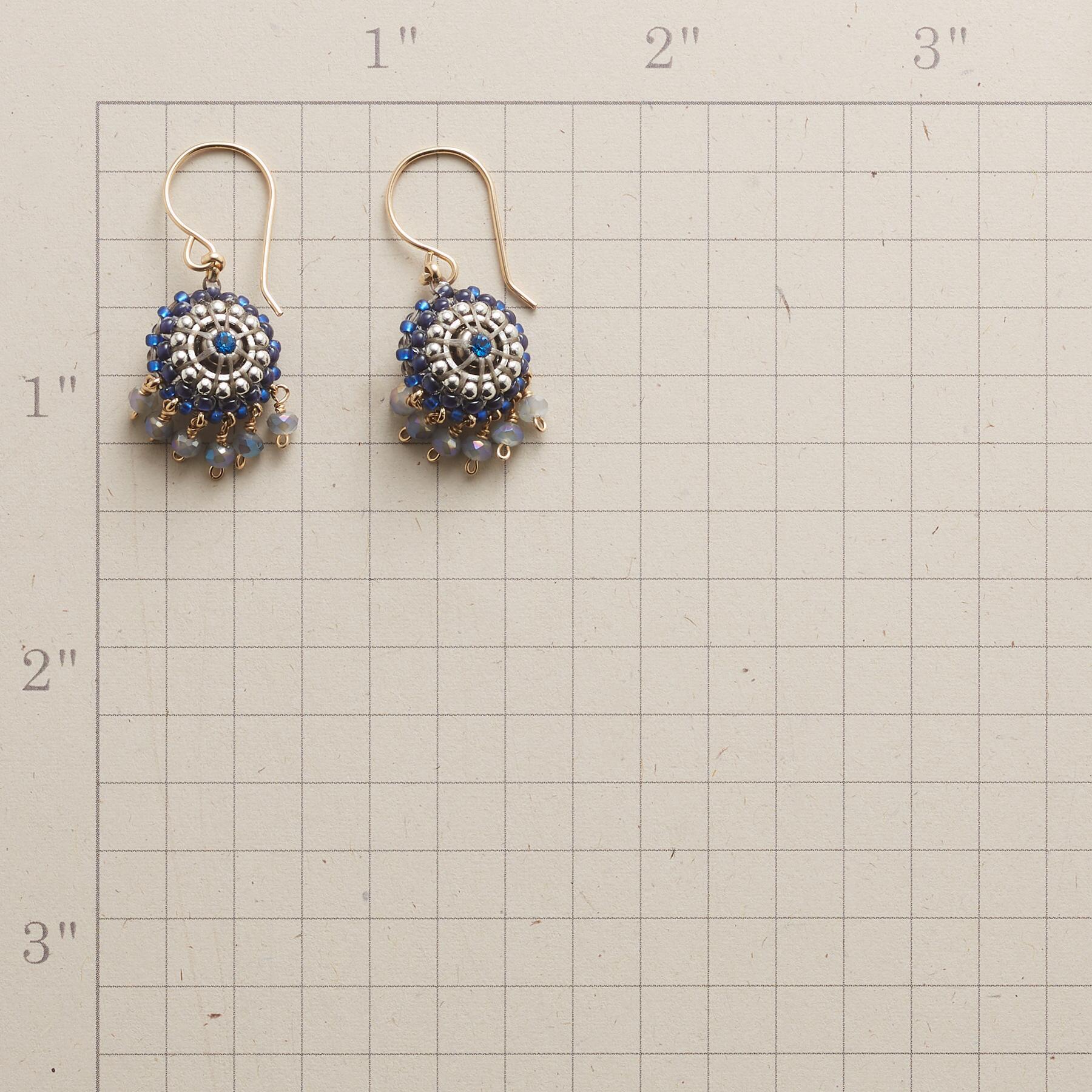 BLUE CHIME EARRINGS: View 2