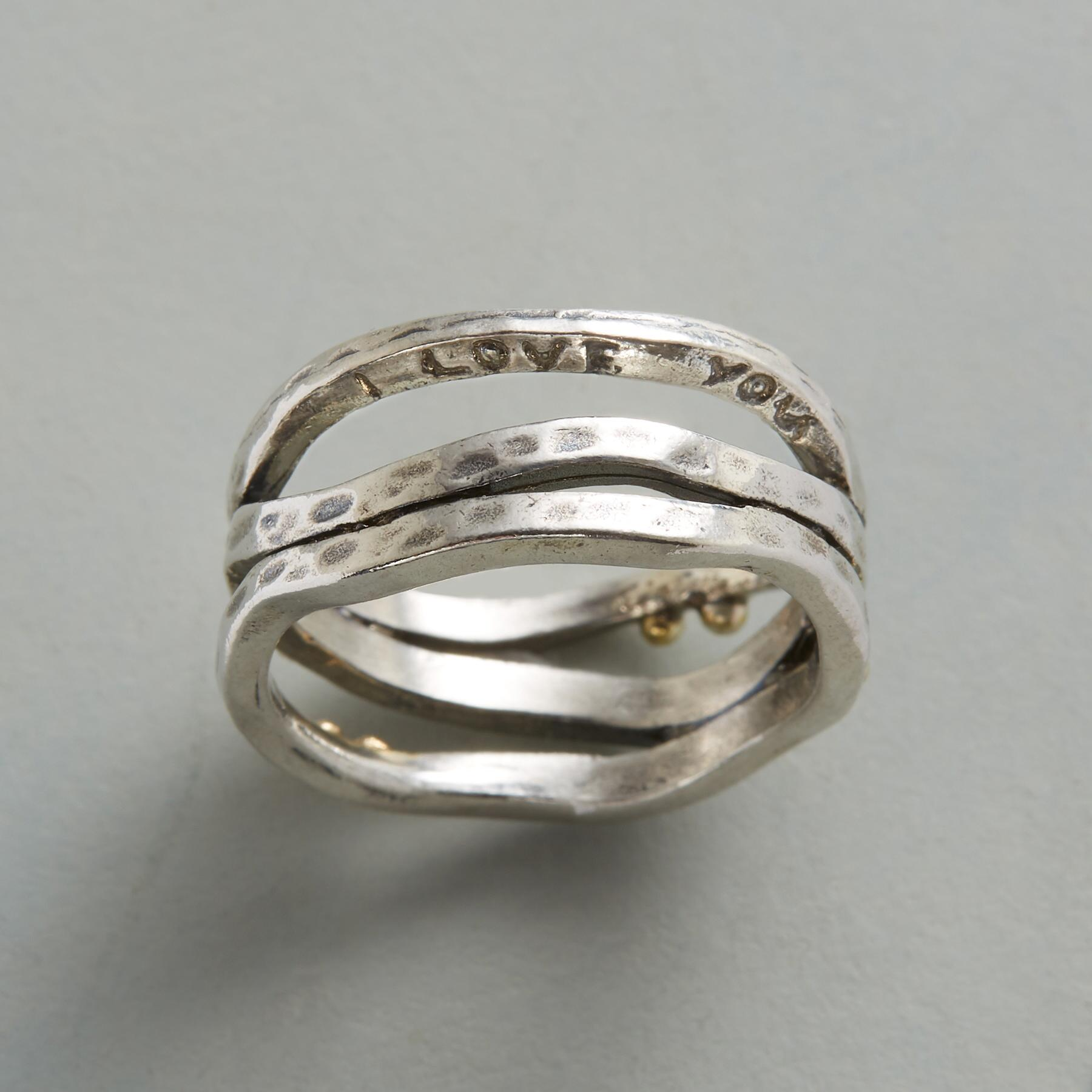 LOVE'S TIMELINE RING: View 2
