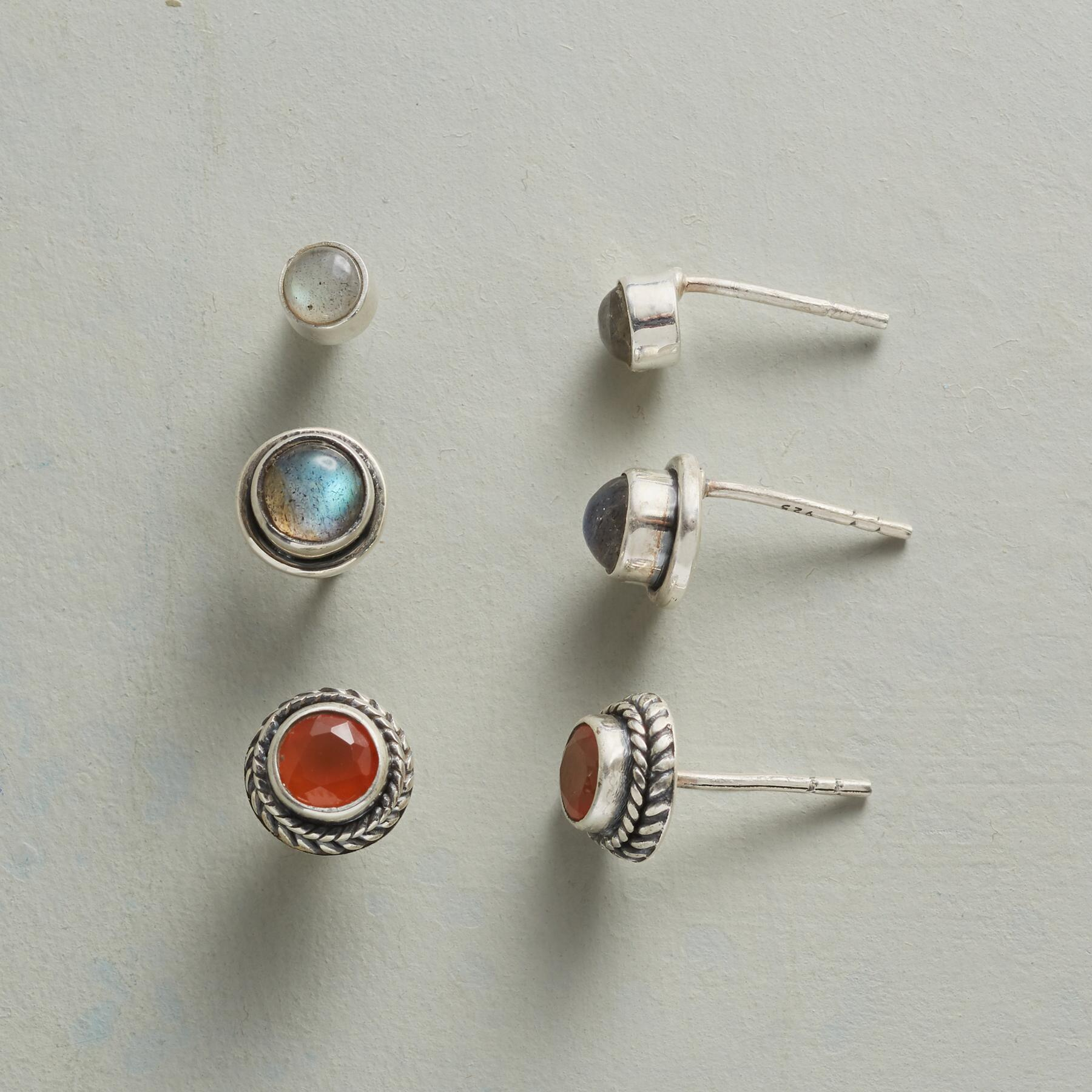 FELLOWSHIP EARRING TRIO: View 1