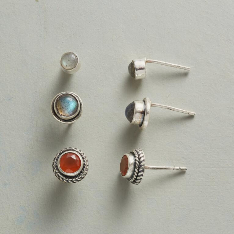 FELLOWSHIP EARRING TRIO