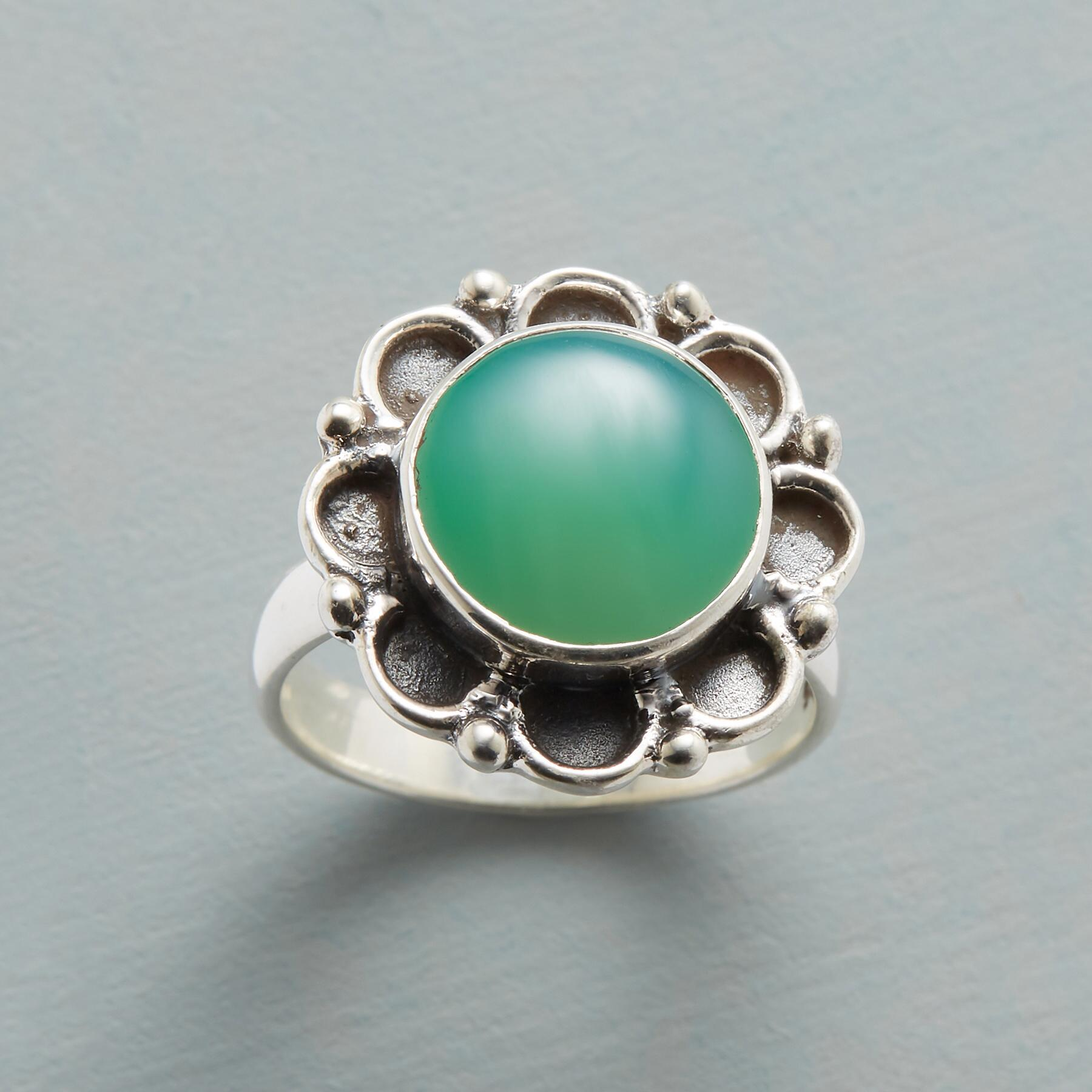 CHALCEDONY IN BLOOM RING: View 1