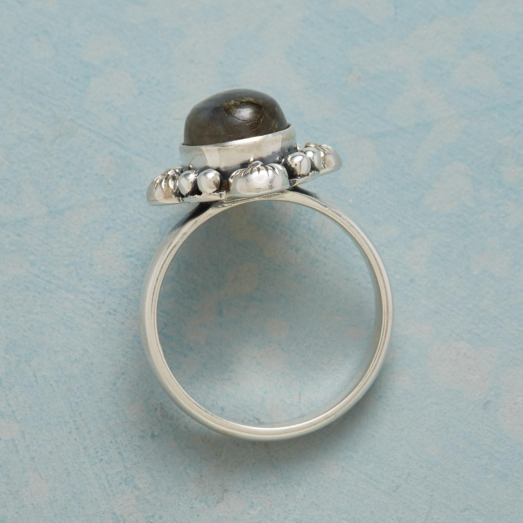 FOUR SUNS LABRADORITE RING: View 2