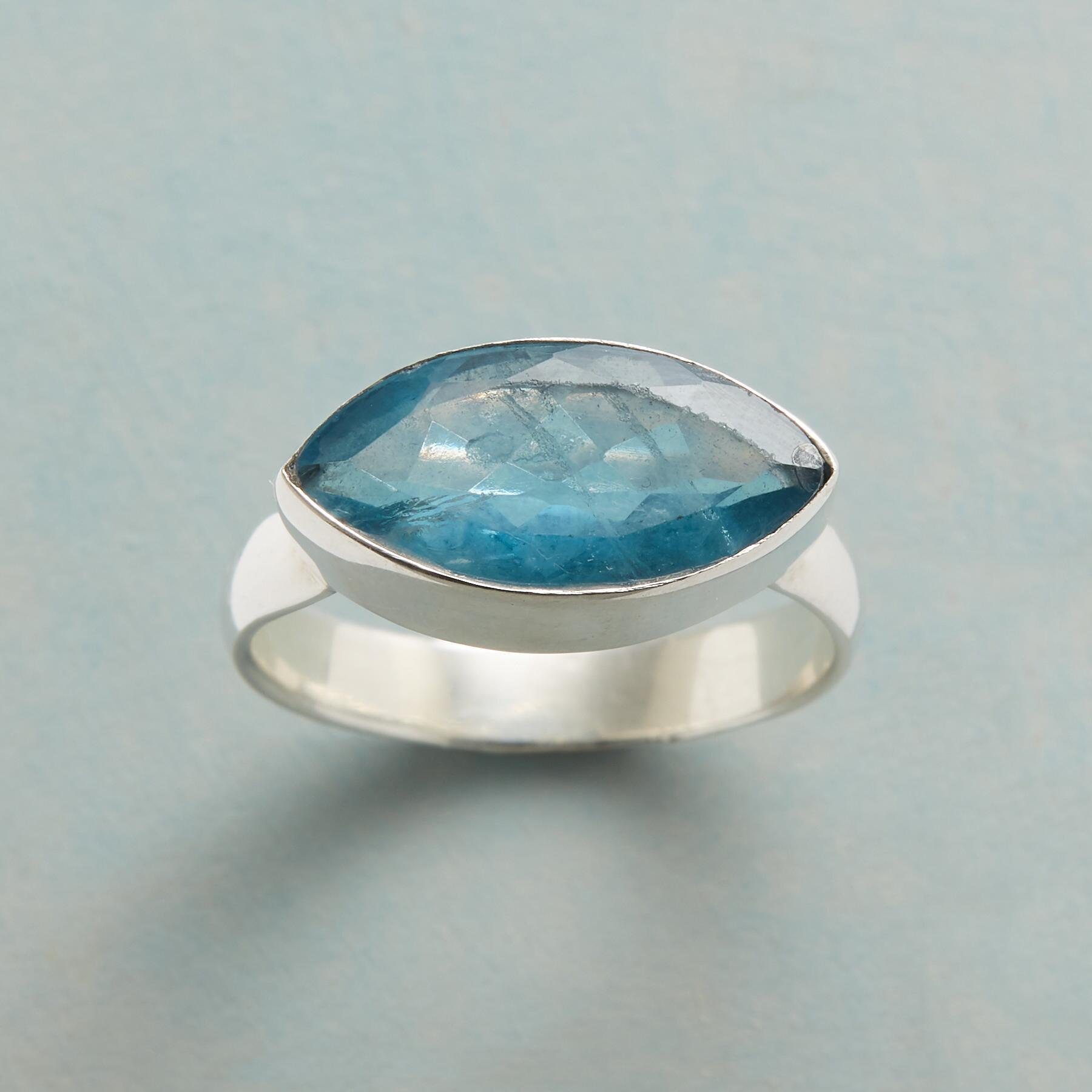 ALL SEEING APATITE RING: View 1