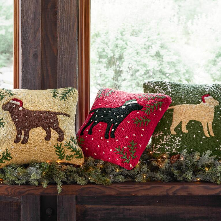 Labrador pillow - Sundance Catalog Home Decor + A Few of My Artisan Favorite Things!