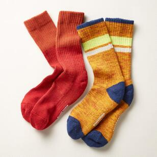 ROBERTO SOCKS, SET OF 2