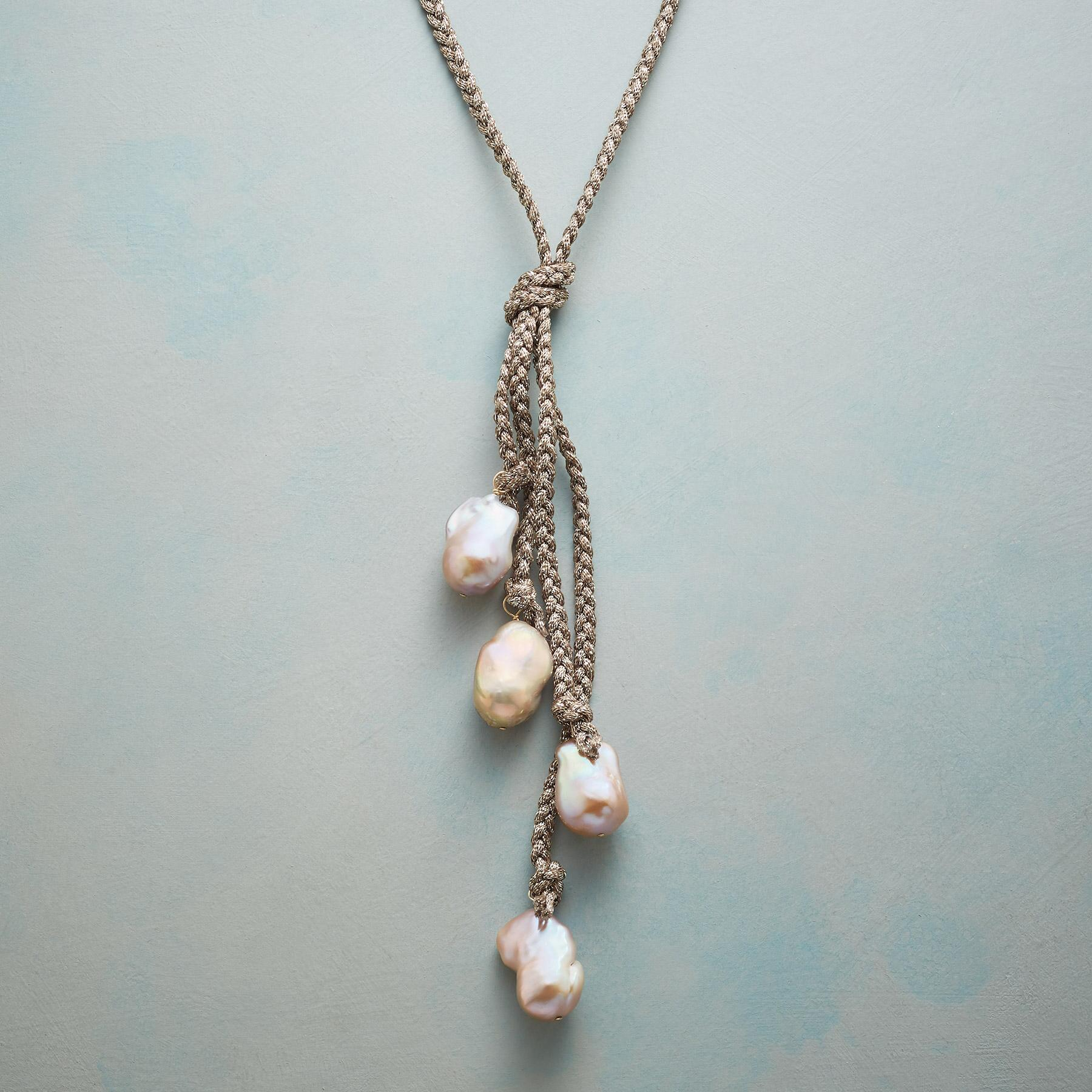 GISELLE PEARL NECKLACE: View 1