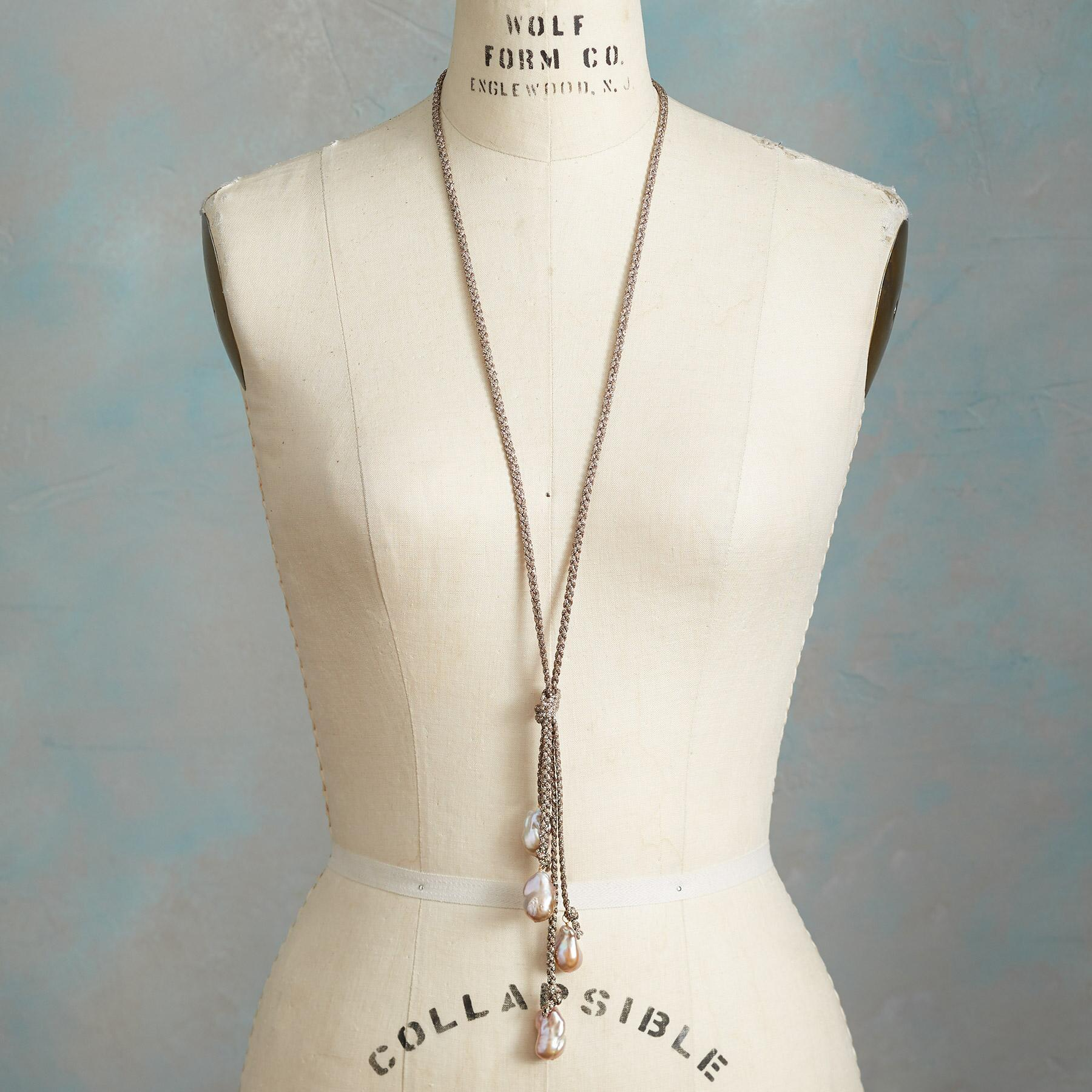 GISELLE PEARL NECKLACE: View 3
