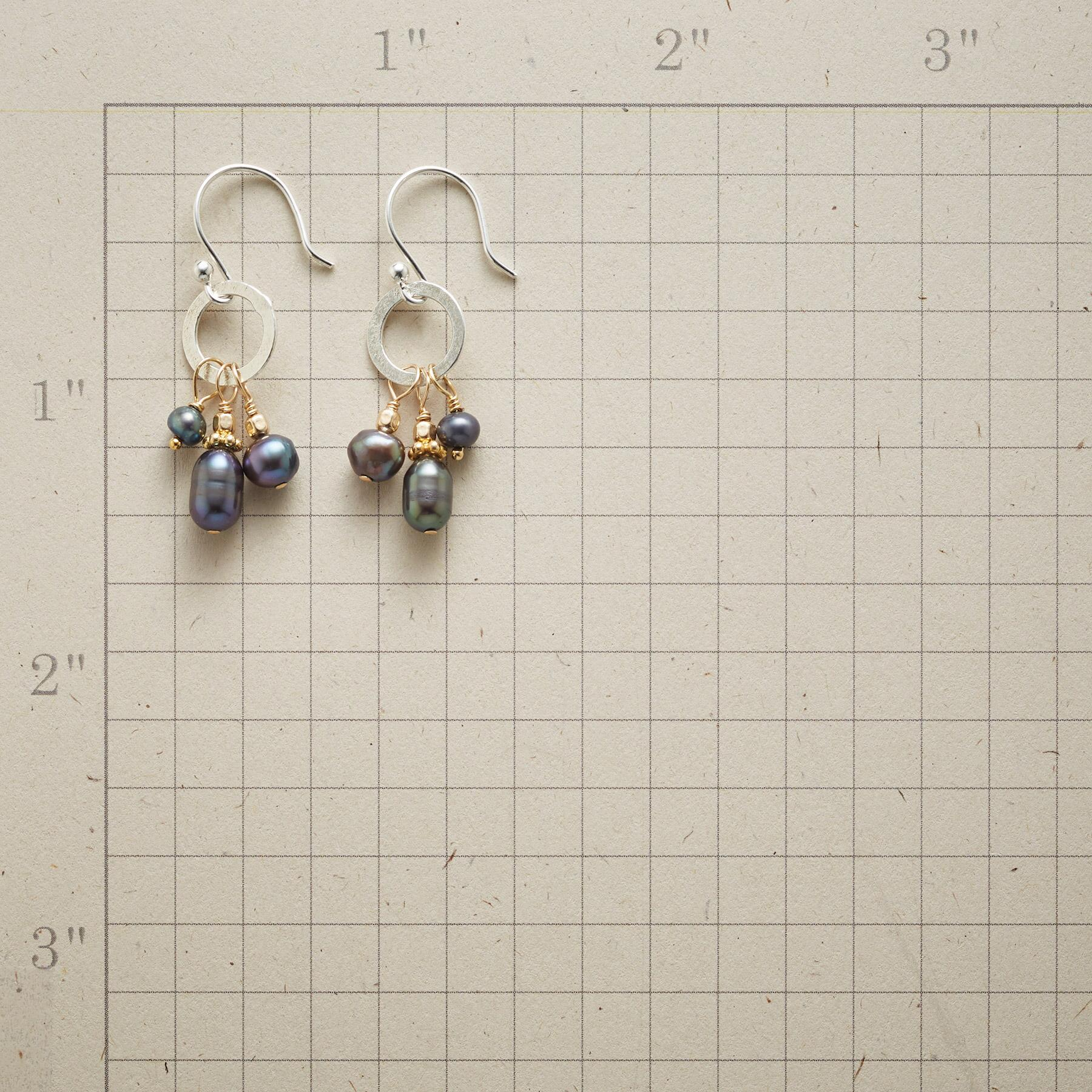 TRINITY PEARL EARRINGS: View 2