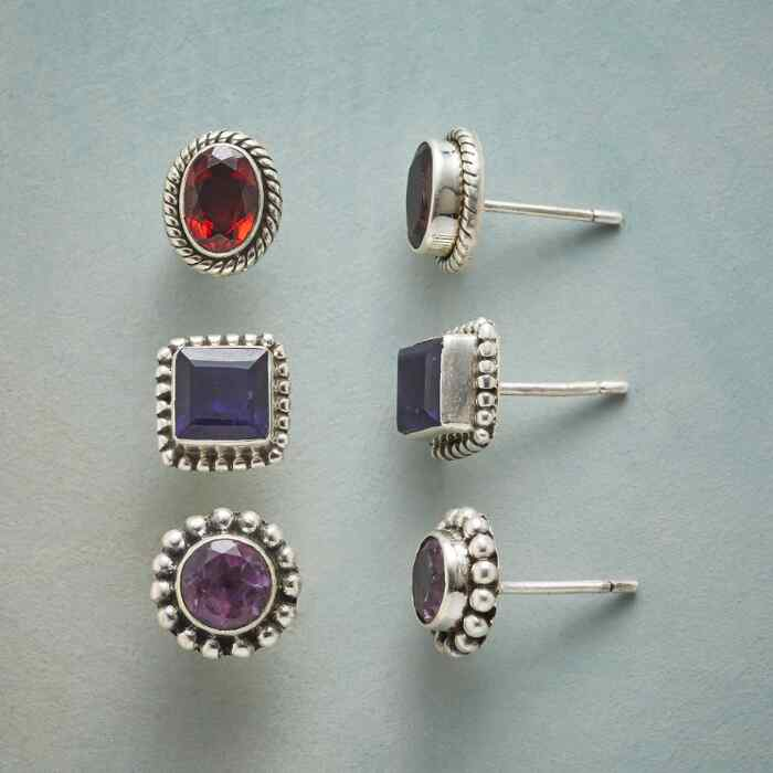 FINE OPTION EARRING TRIO