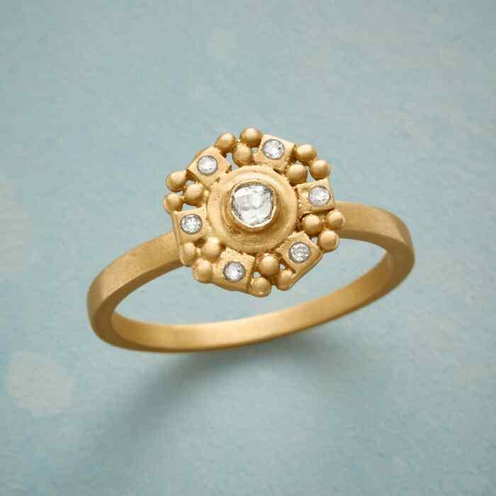 BRIGHT AND BEAUTIFUL DIAMOND RING