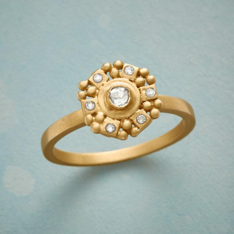 BRIGHT AND BEAUTIFUL DIAMOND RING