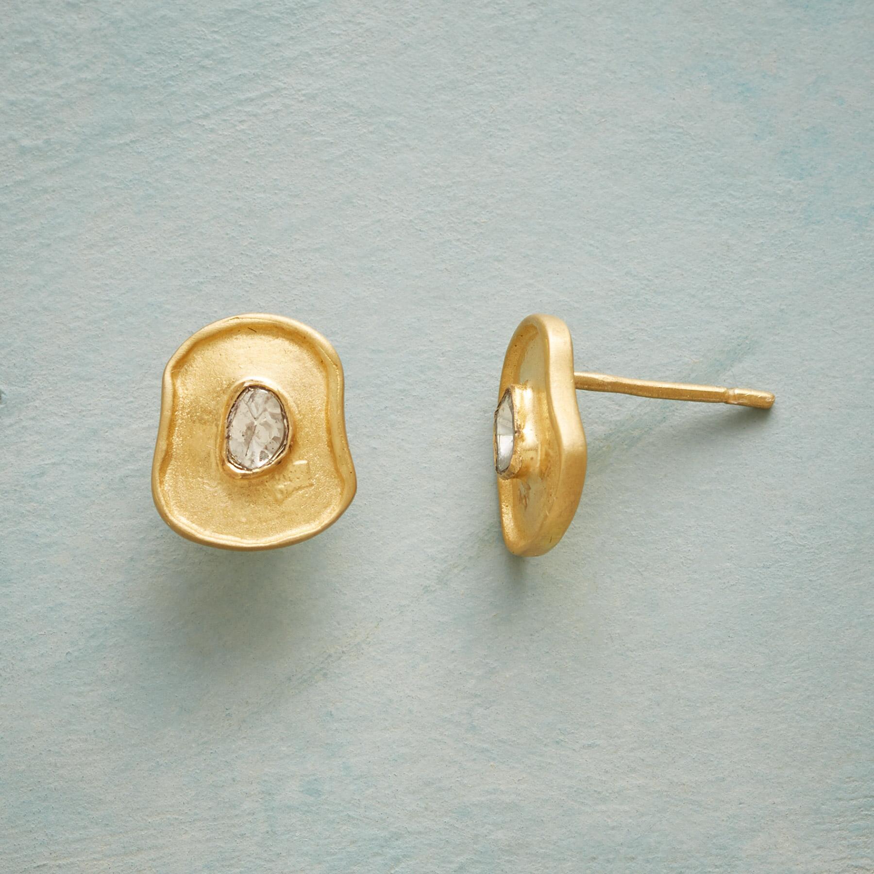 DIANA DIAMOND EARRINGS: View 1