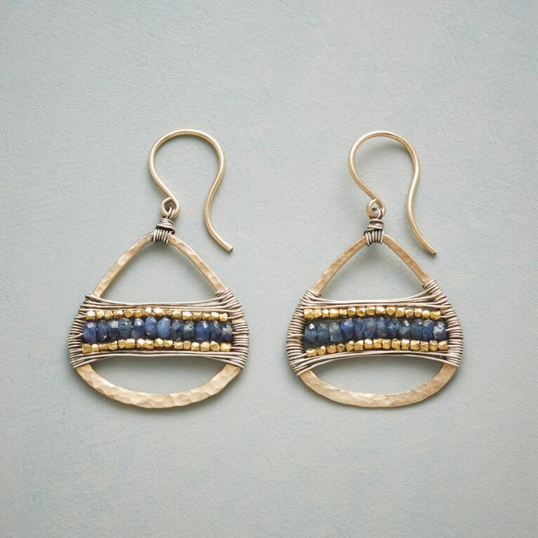 SAPPHIRE BRIDGE EARRINGS