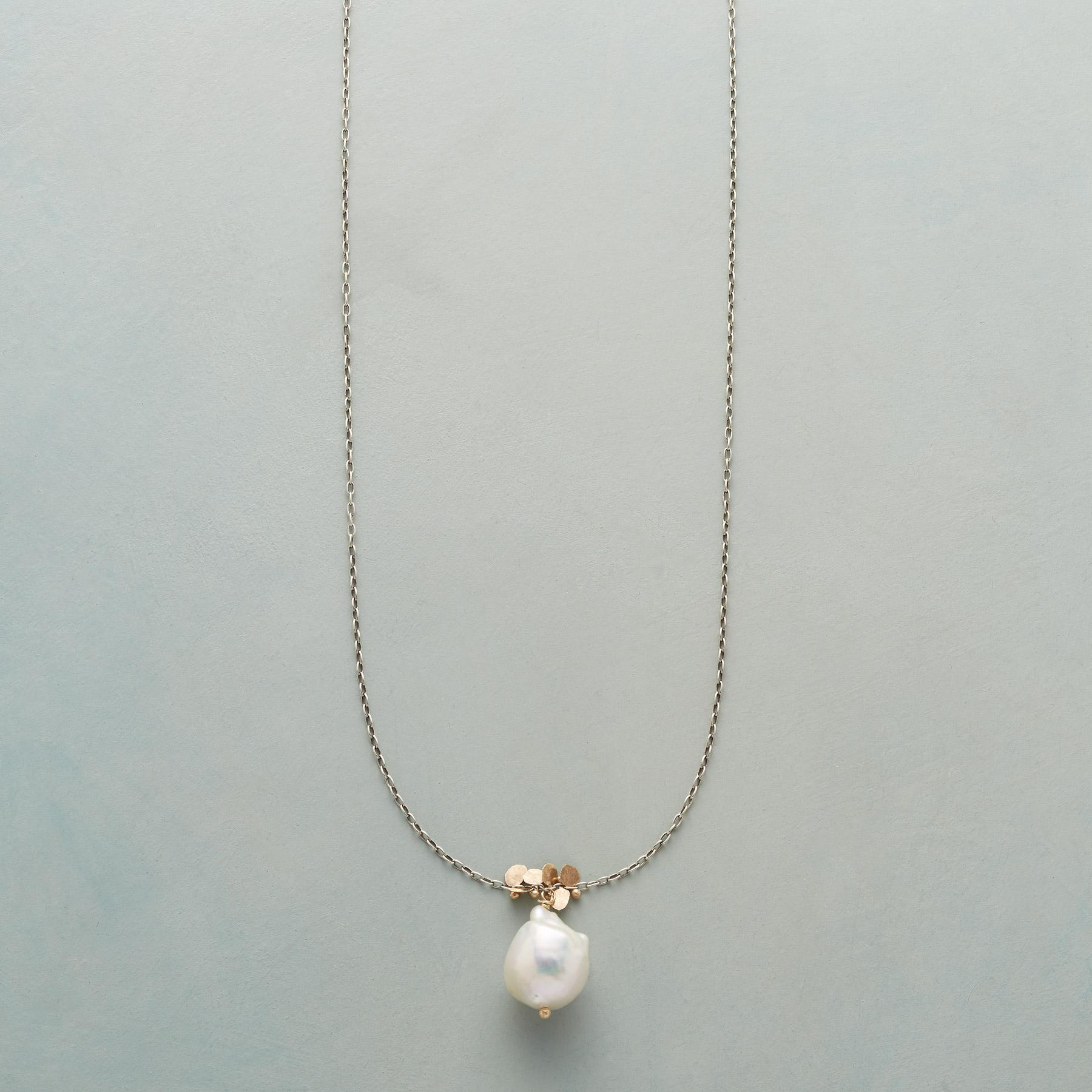 PEARL AND PAILLETTES NECKLACE: View 1