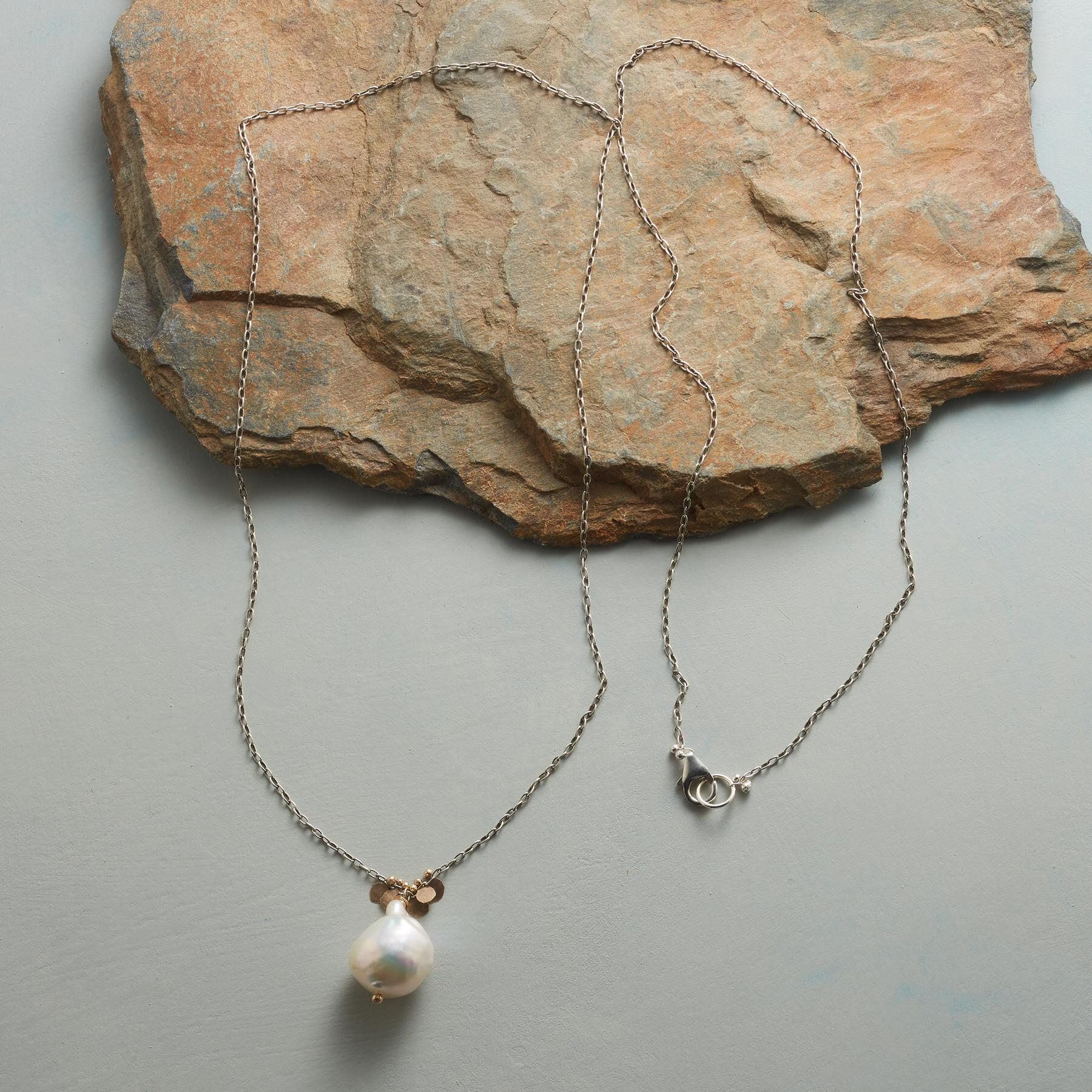 PEARL AND PAILLETTES NECKLACE: View 2
