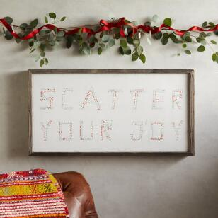 SB SCATTER YOUR JOY PRINT