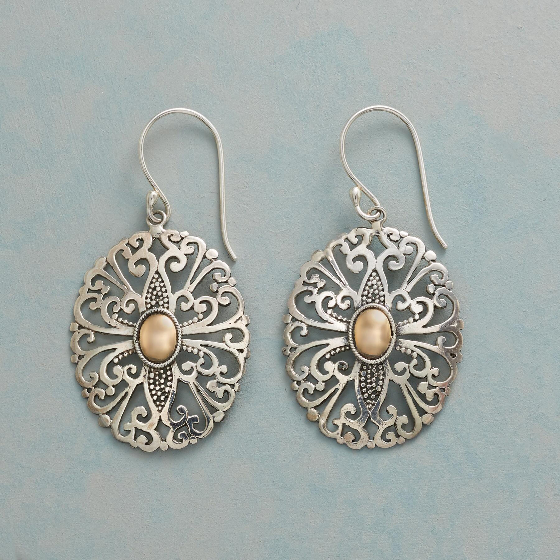 FILIGREE FOLLY EARRINGS: View 1