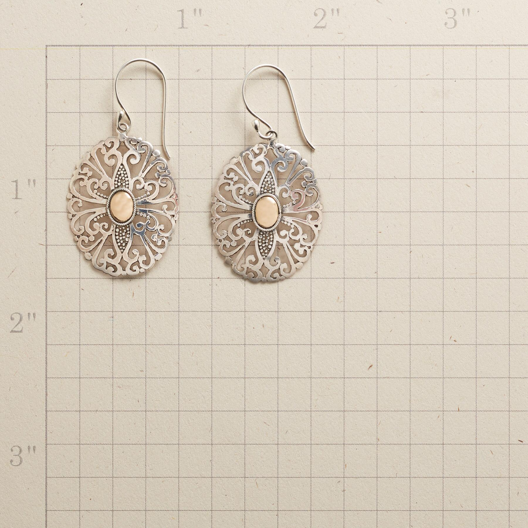 FILIGREE FOLLY EARRINGS: View 2