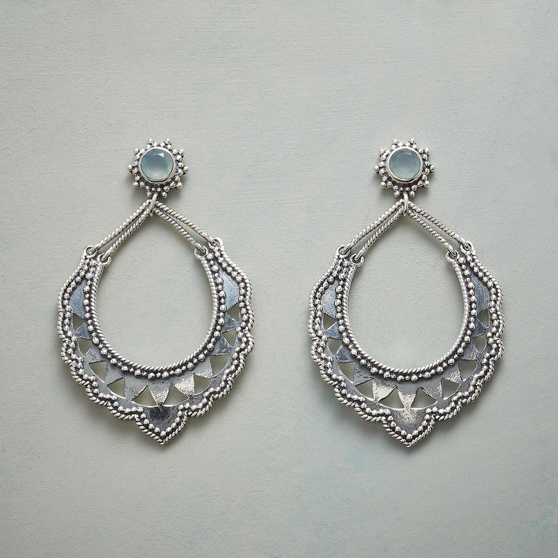 LACE COLLAR EARRINGS: View 1