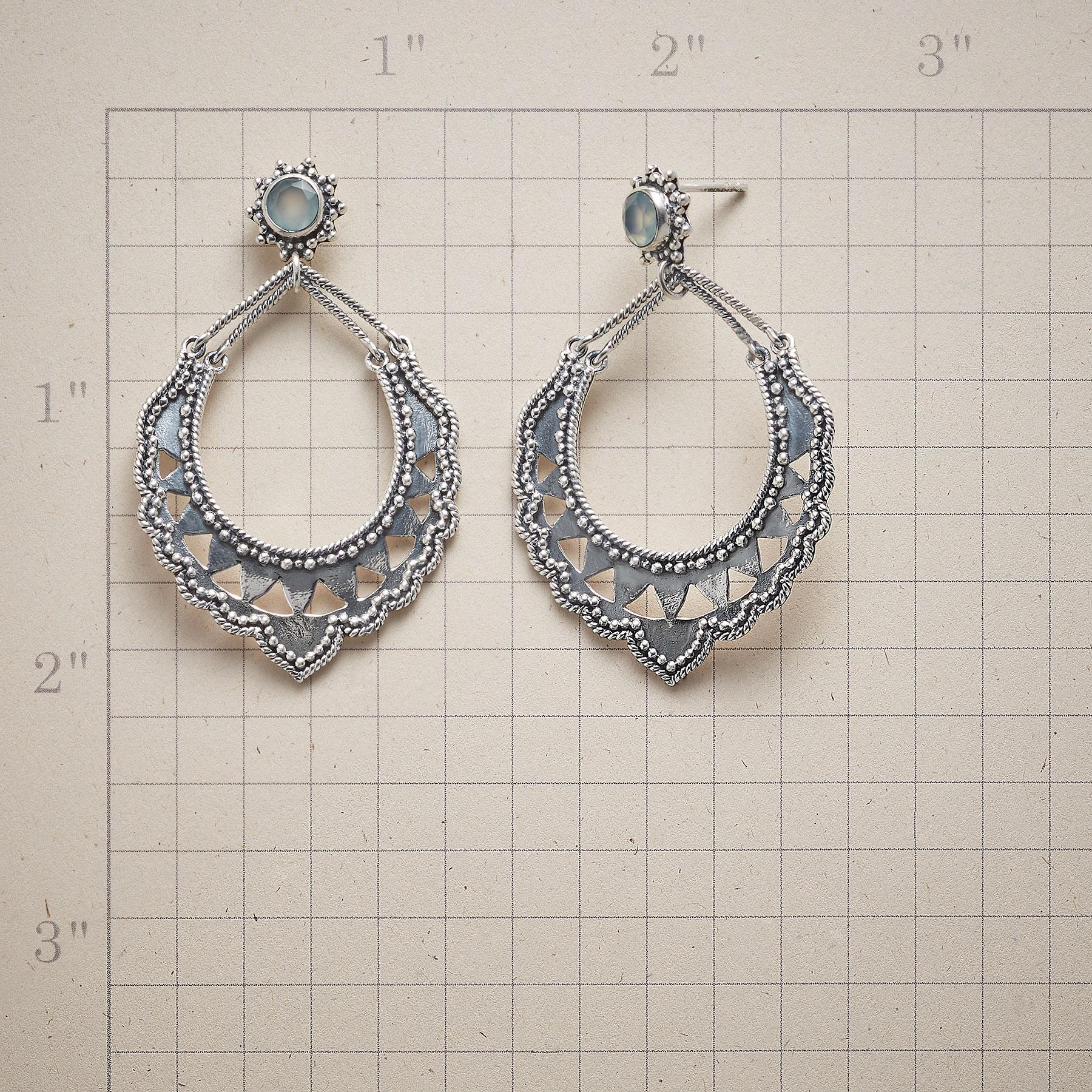 LACE COLLAR EARRINGS: View 2