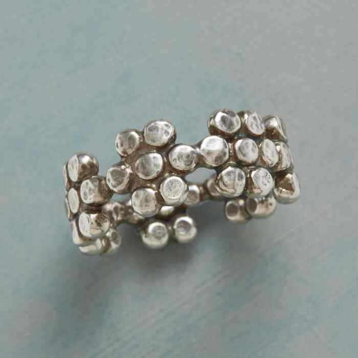 BEADED BLOOMS RING