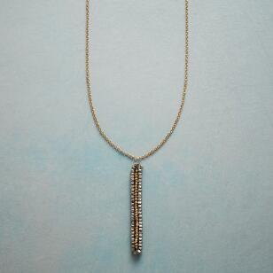 GOLDEN PEAPOD NECKLACE