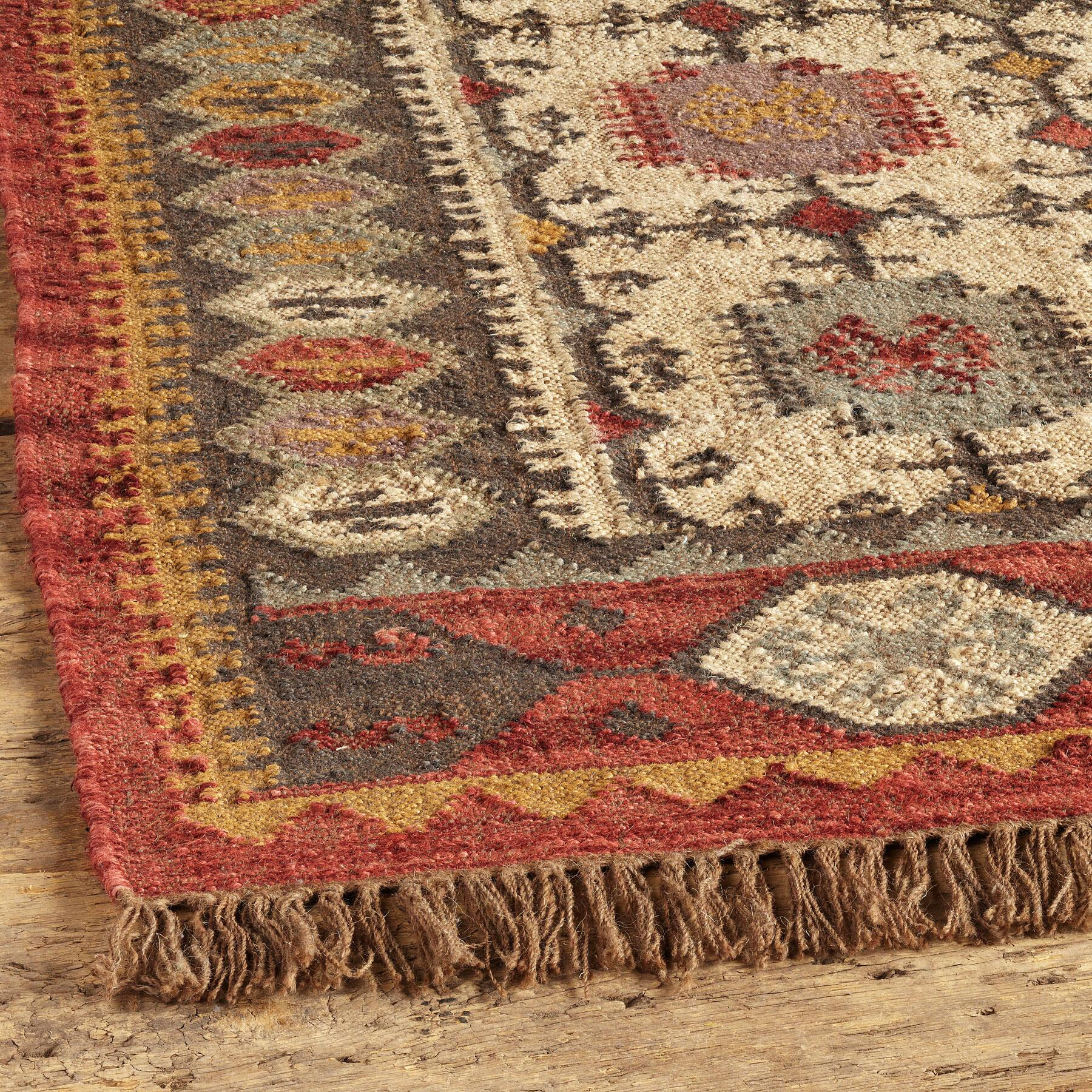 CASTLE CROSS KILIM RUG: View 2