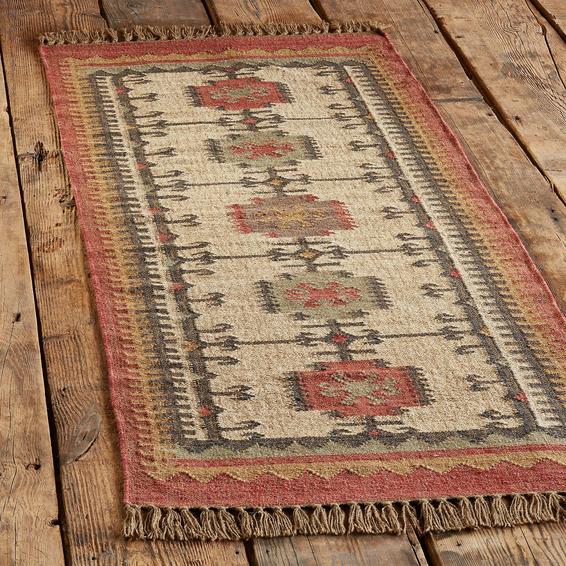 CASTLE CROSS KILIM RUG: View 3