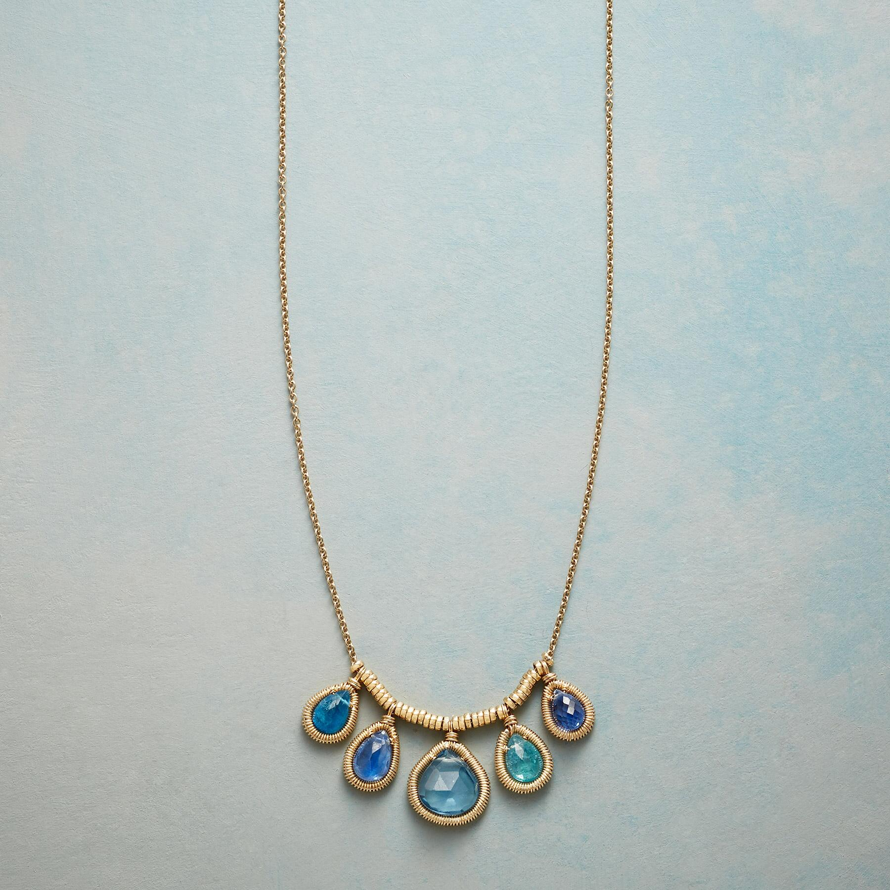 GRACED WITH BLUE NECKLACE: View 1