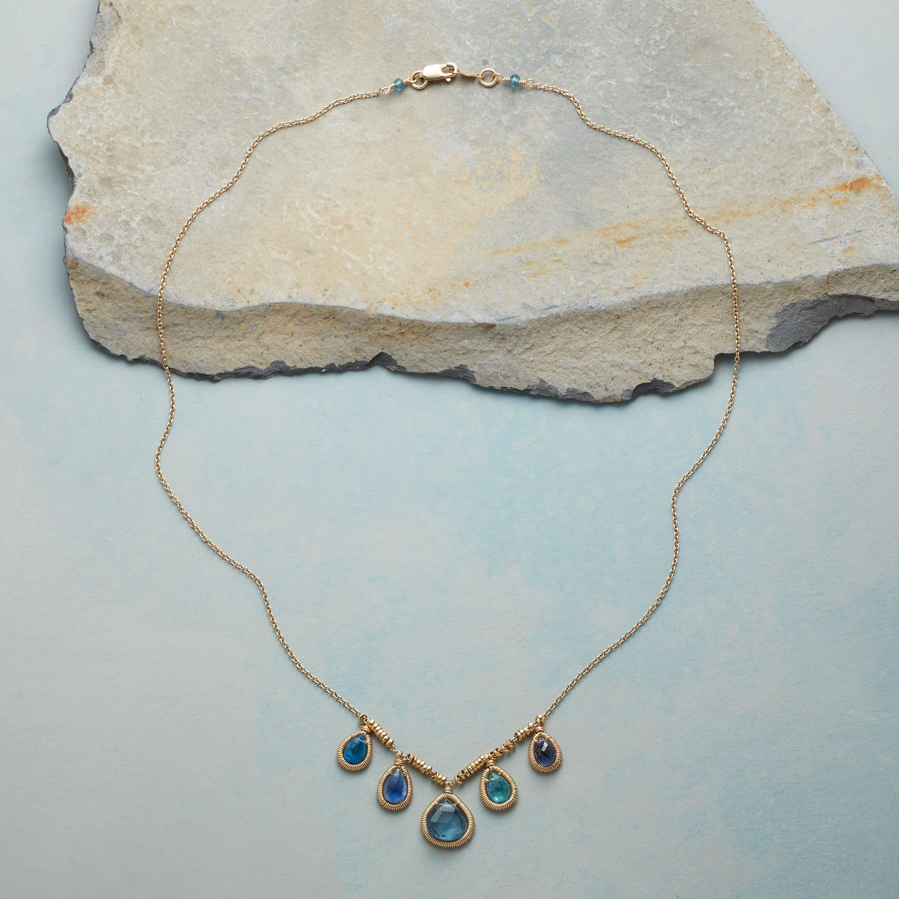 GRACED WITH BLUE NECKLACE: View 2