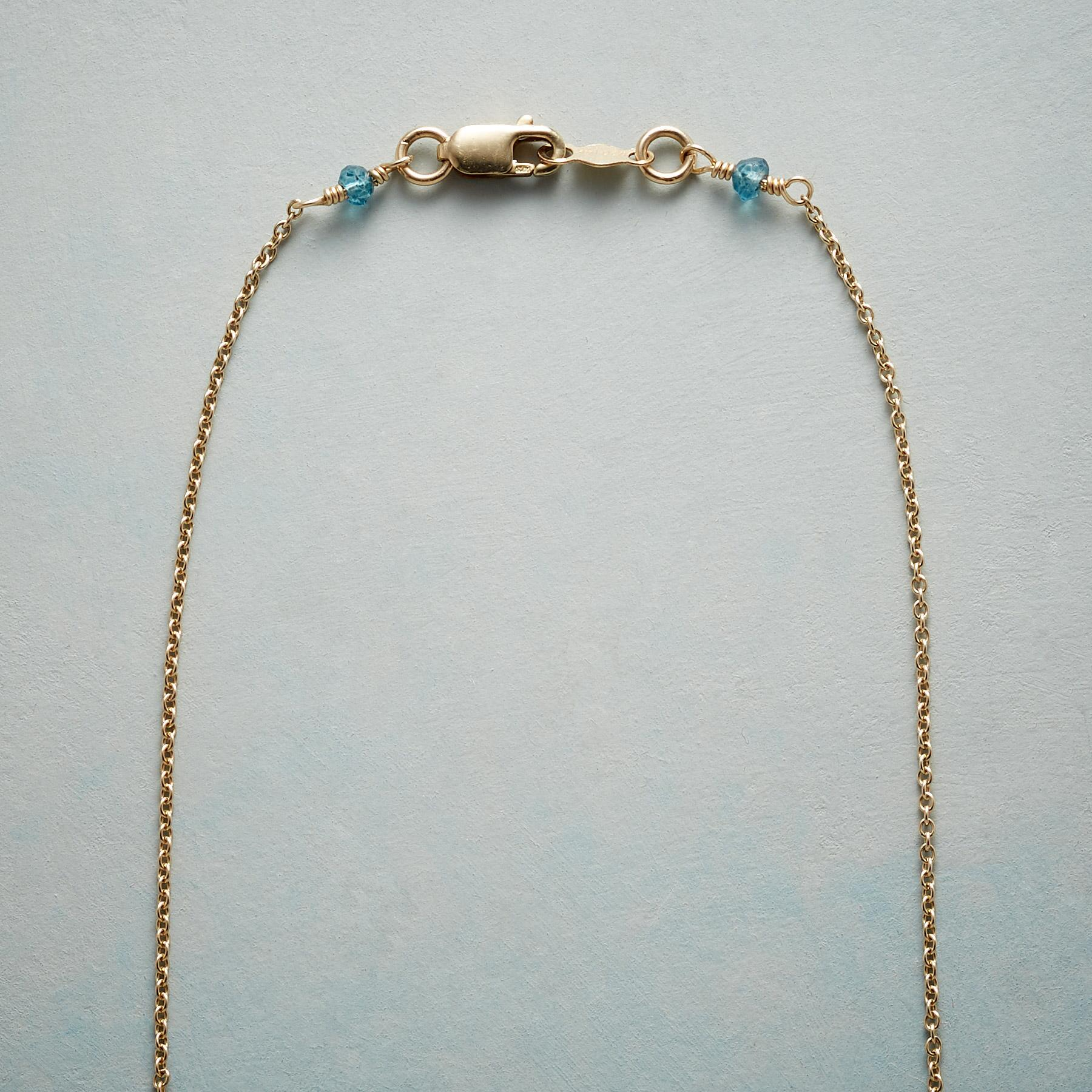 GRACED WITH BLUE NECKLACE: View 3
