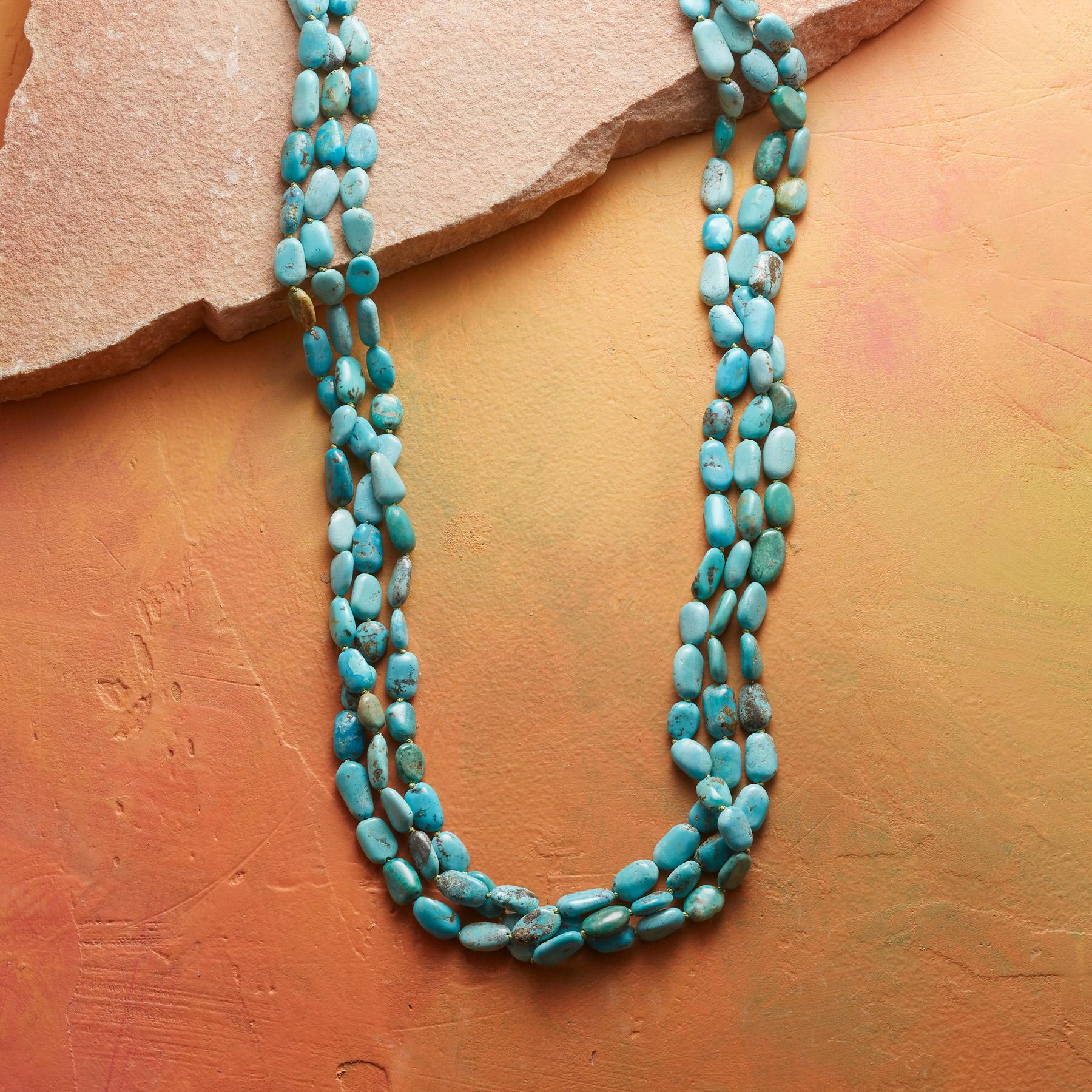 LISA CHAVEZ TURQUOISE NECKLACE: View 1