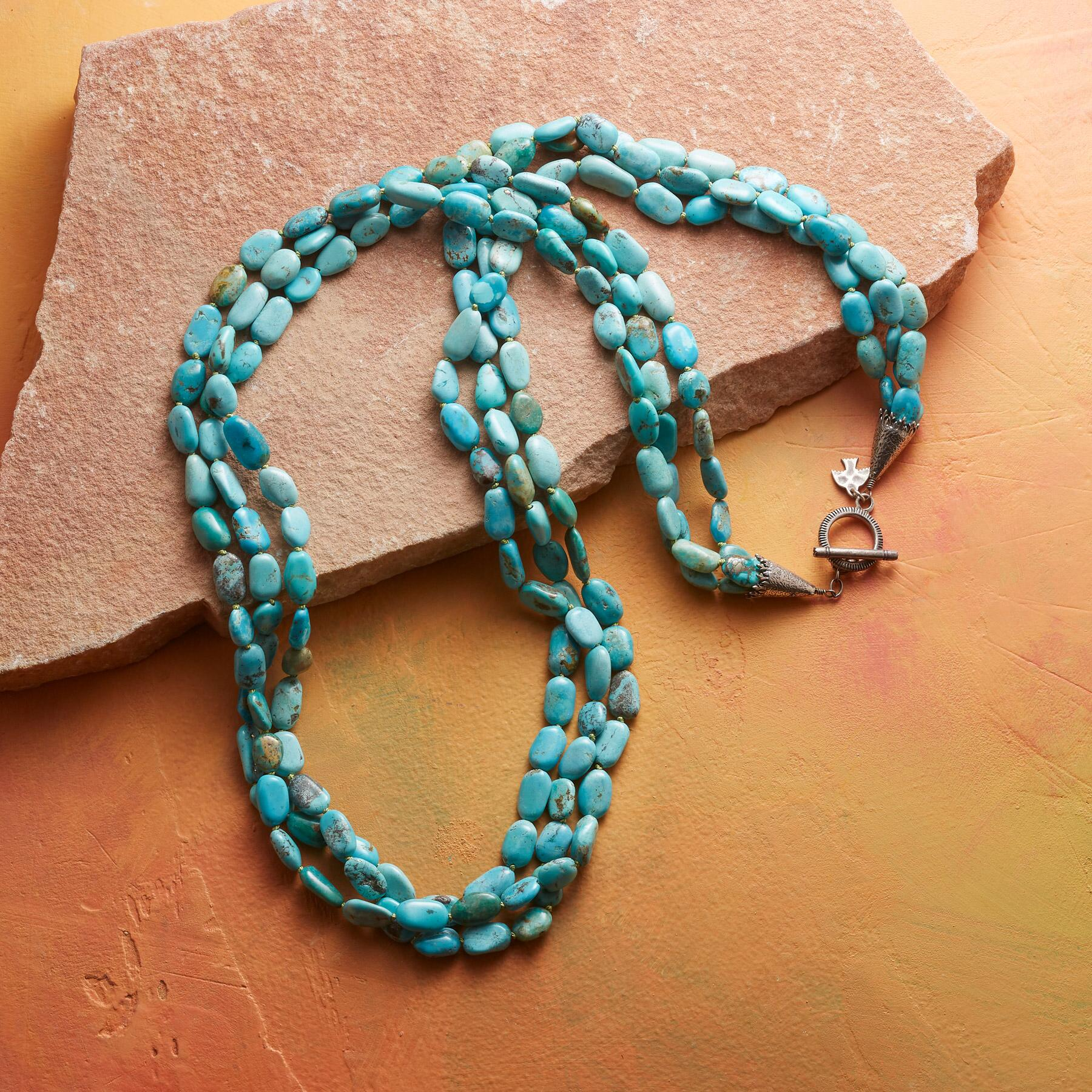 LISA CHAVEZ TURQUOISE NECKLACE: View 2