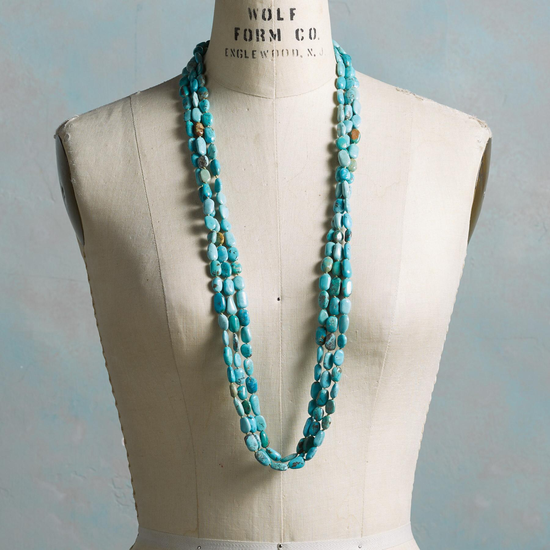 LISA CHAVEZ TURQUOISE NECKLACE: View 3