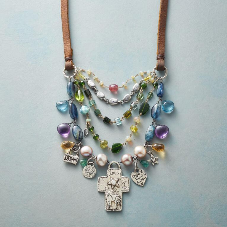 BLESSED & LOVED NECKLACE
