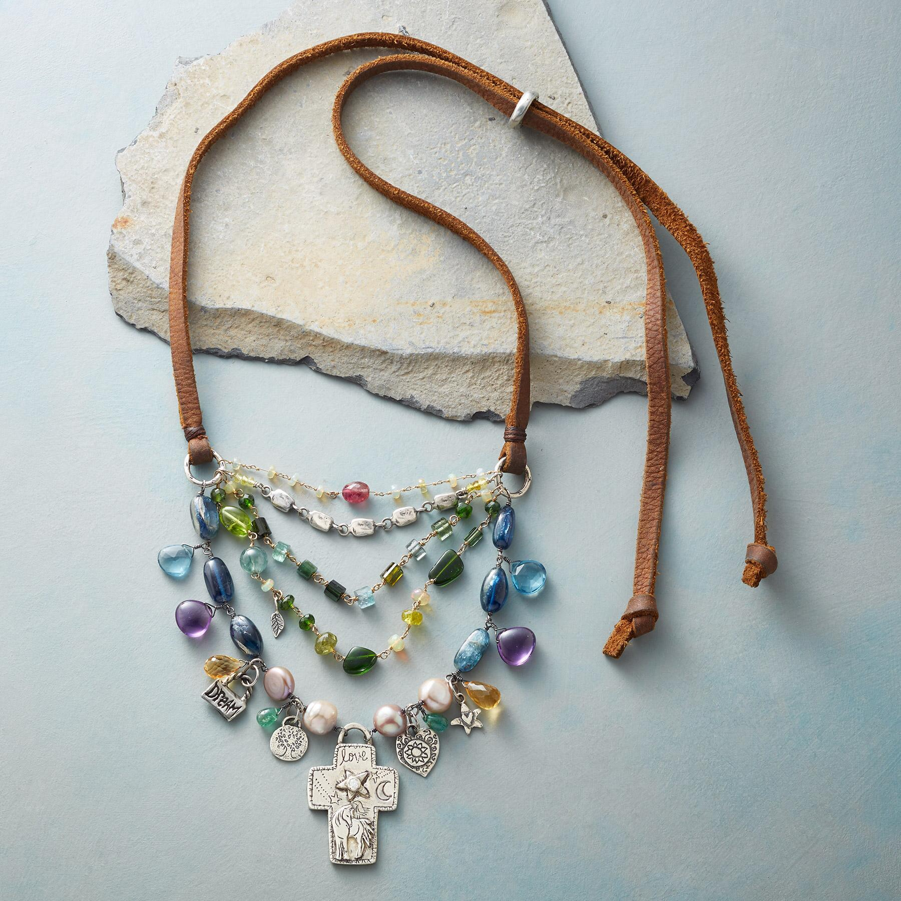 BLESSED & LOVED NECKLACE: View 2