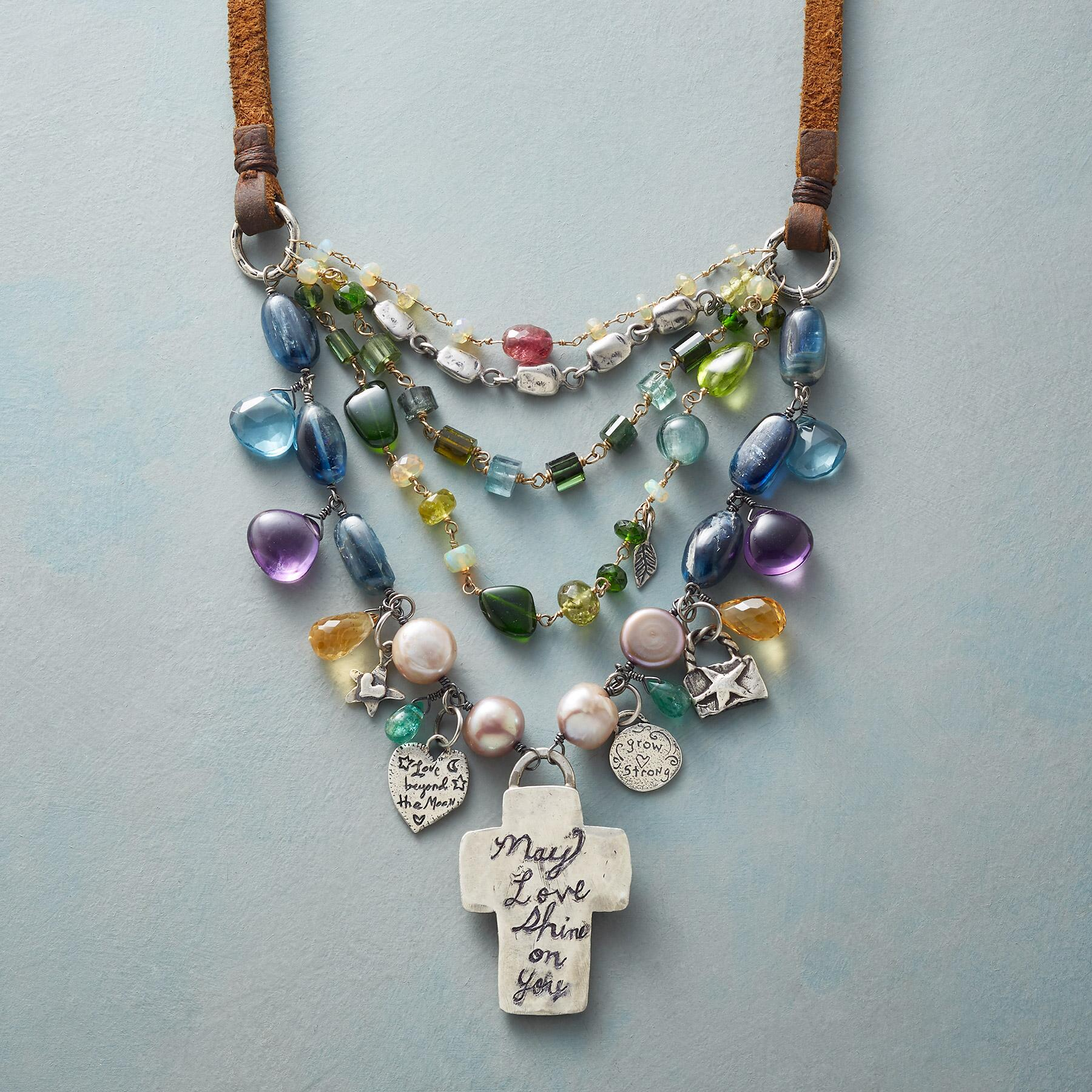 BLESSED & LOVED NECKLACE: View 3