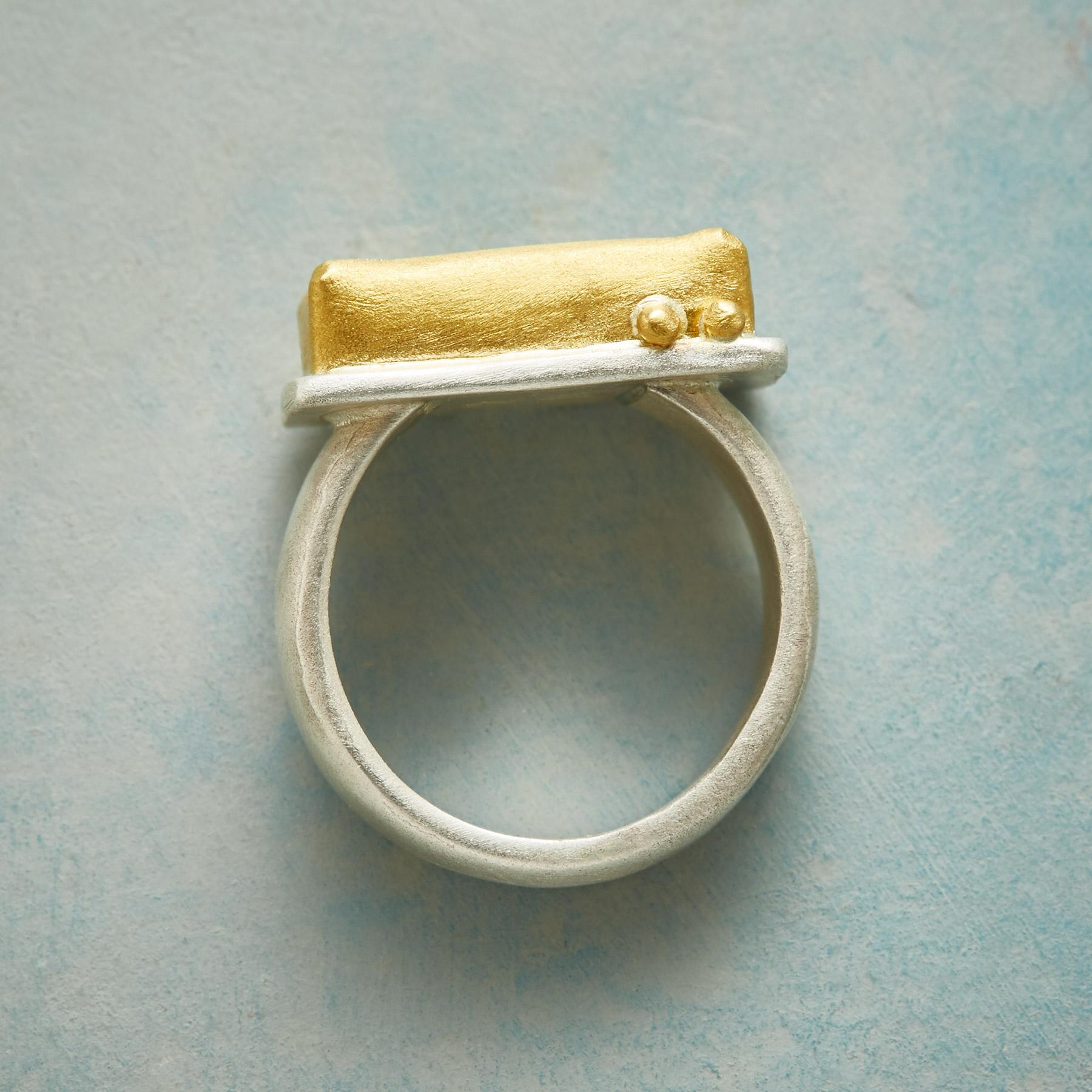 RUBY RECTANGLE RING: View 2