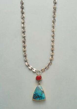TURQUOISE AHEAD NECKLACE