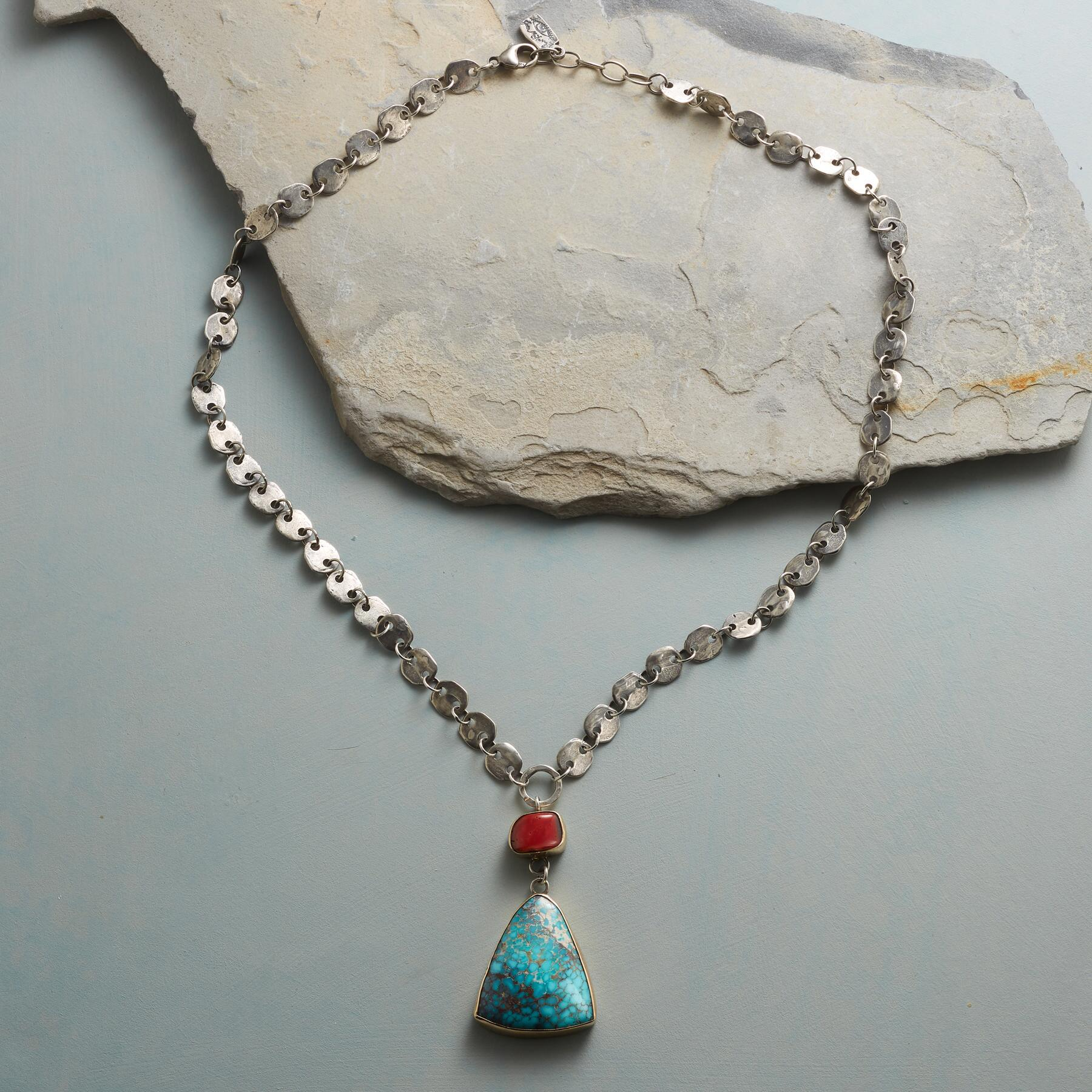 TURQUOISE AHEAD NECKLACE: View 2