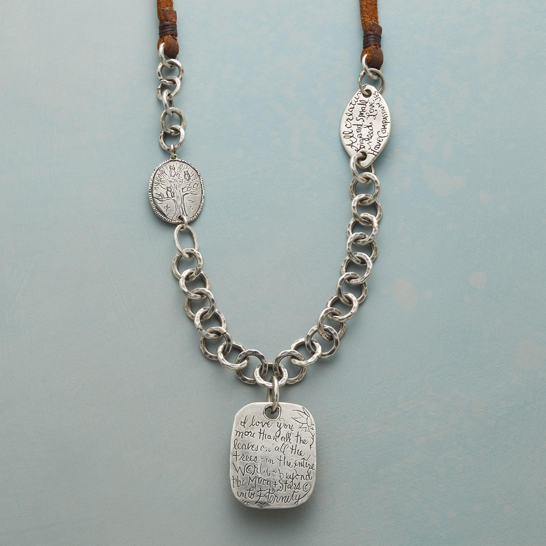 LOVE WITHOUT END NECKLACE: View 3
