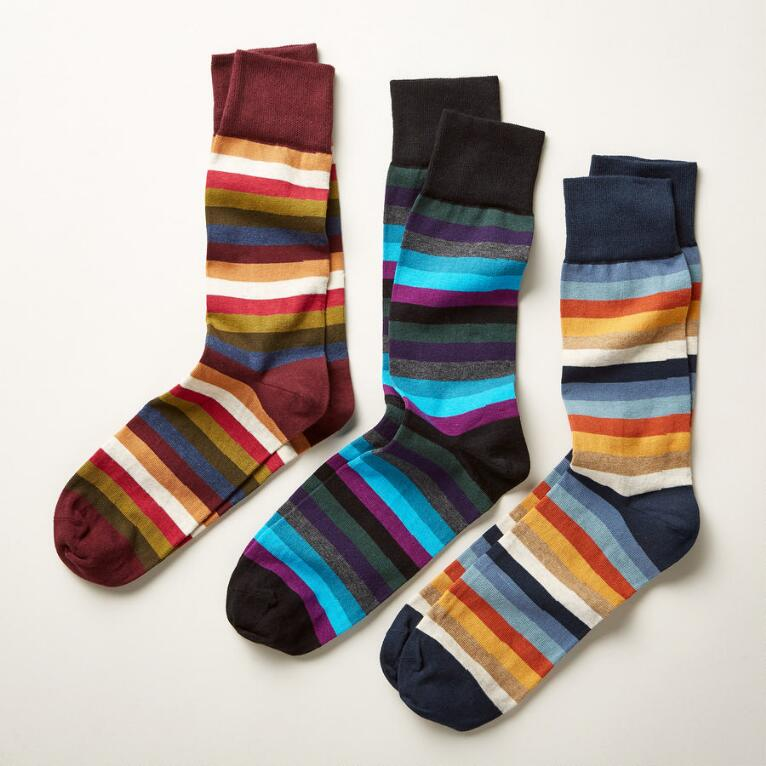ABERDARE SOCKS, SET OF 3