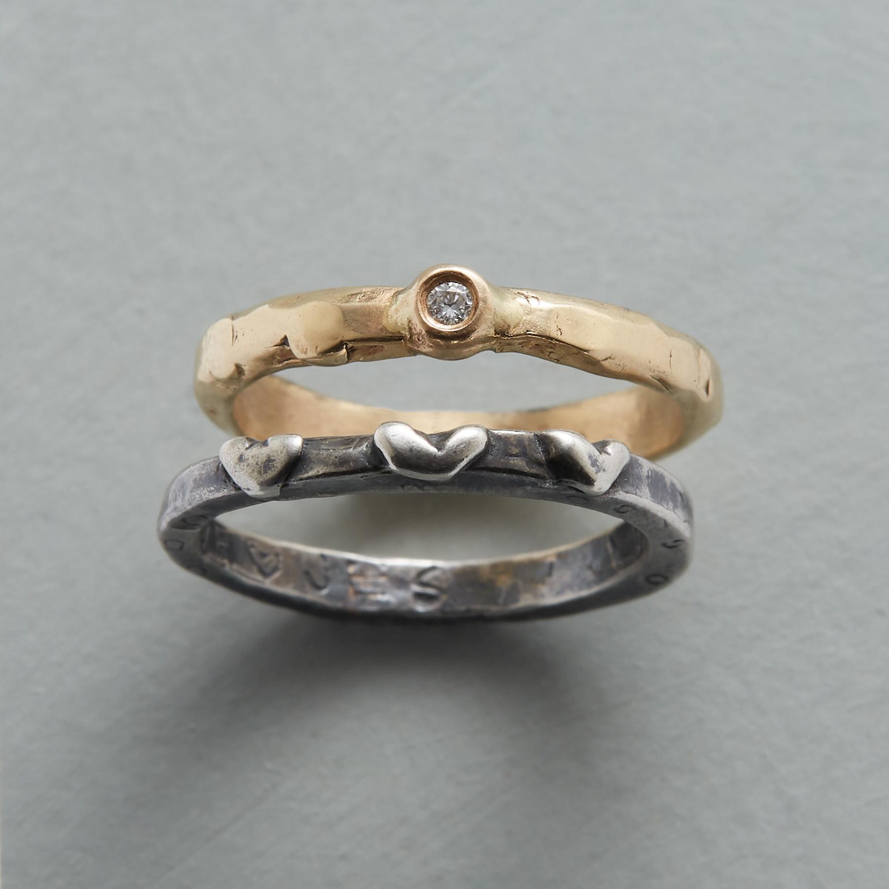 INVINCIBLE LOVE RINGS: View 1