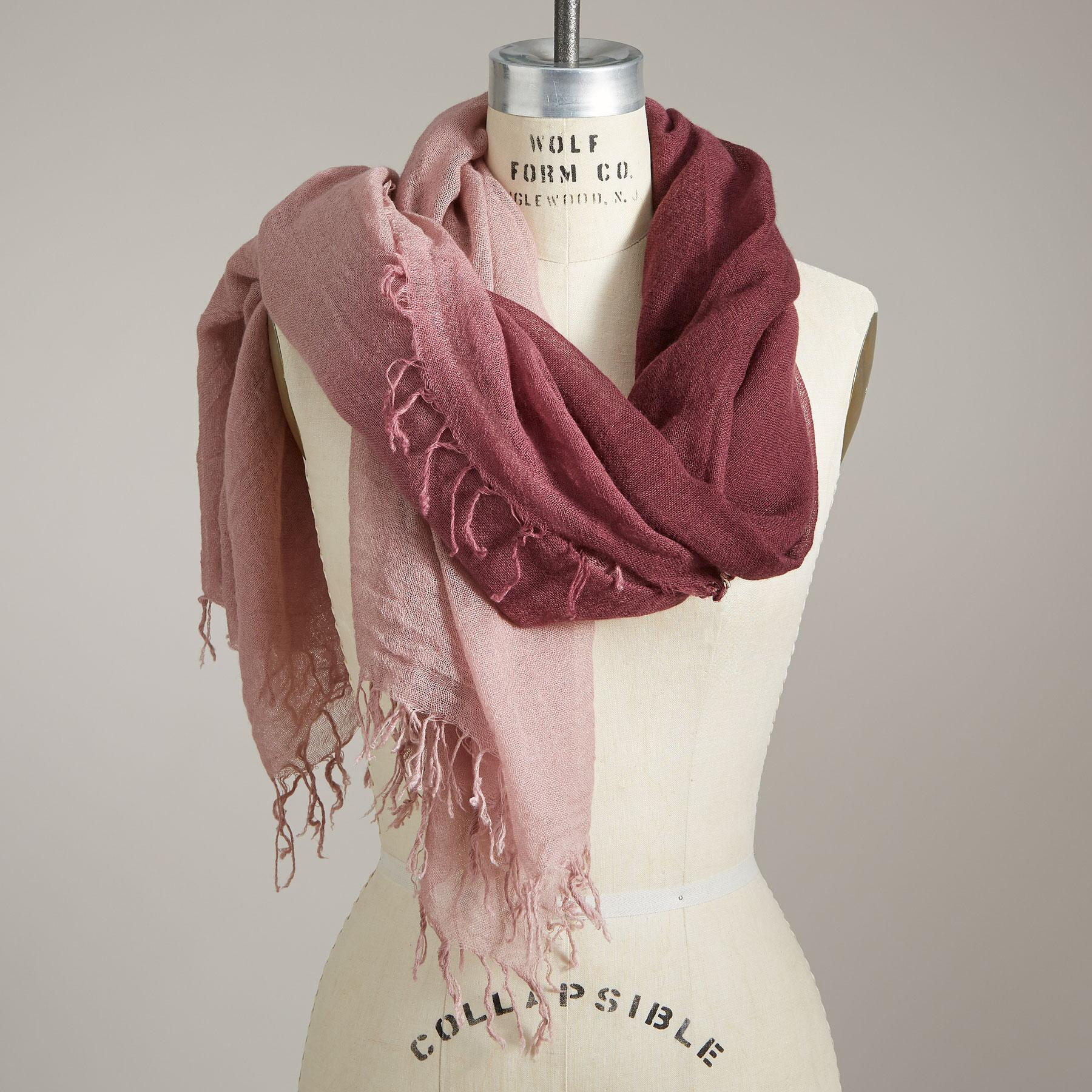 MORNING BLUSH SCARF: View 1