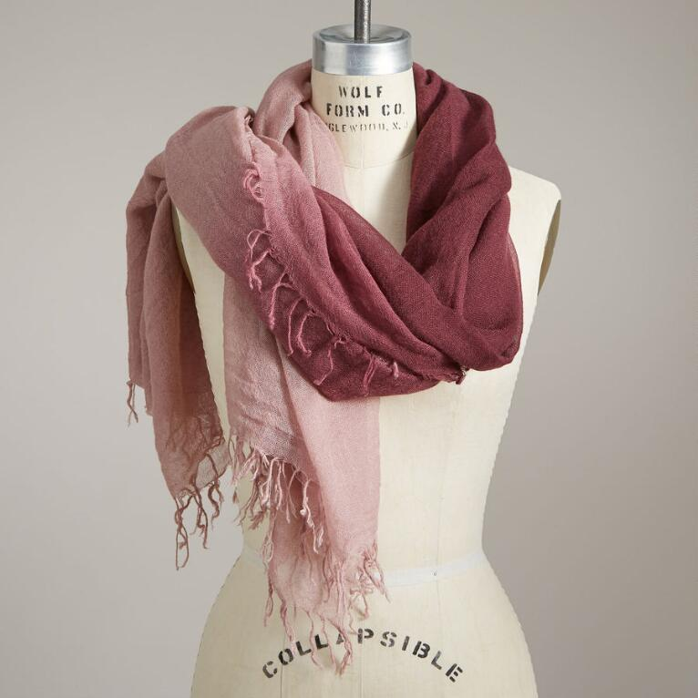 MORNING BLUSH SCARF