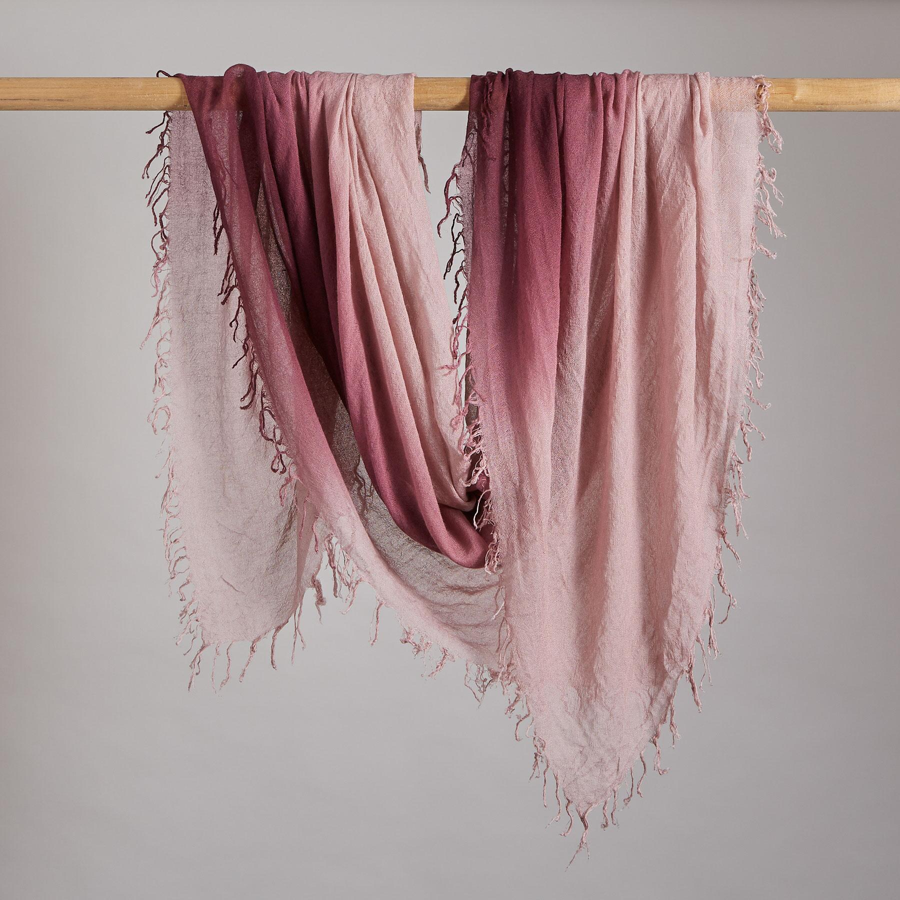 MORNING BLUSH SCARF: View 2