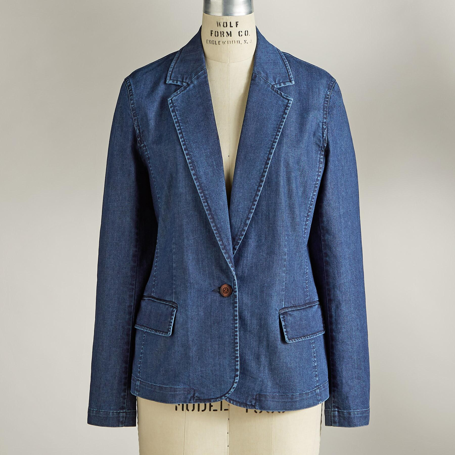 TANIA DENIM BLAZER: View 2