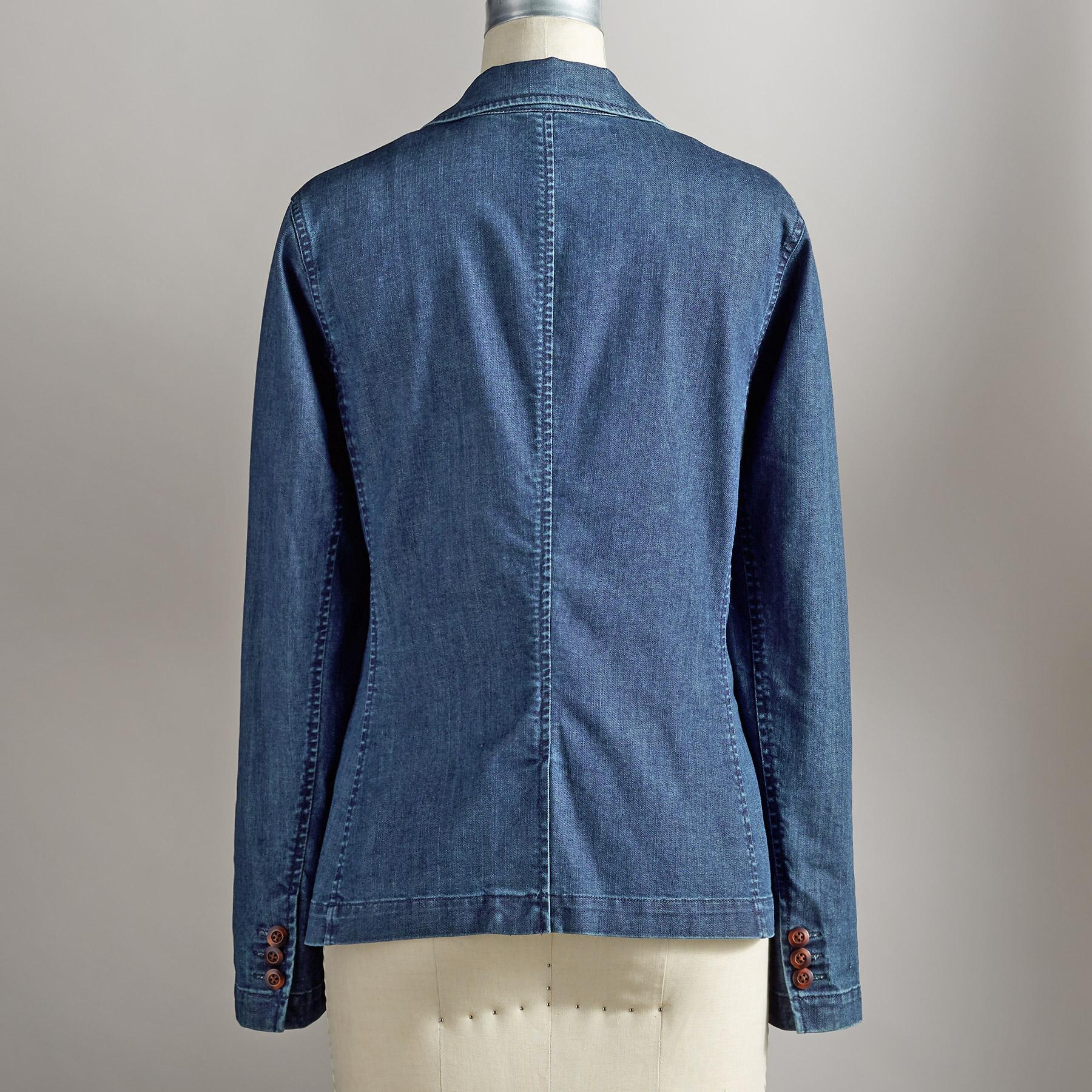 TANIA DENIM BLAZER: View 3